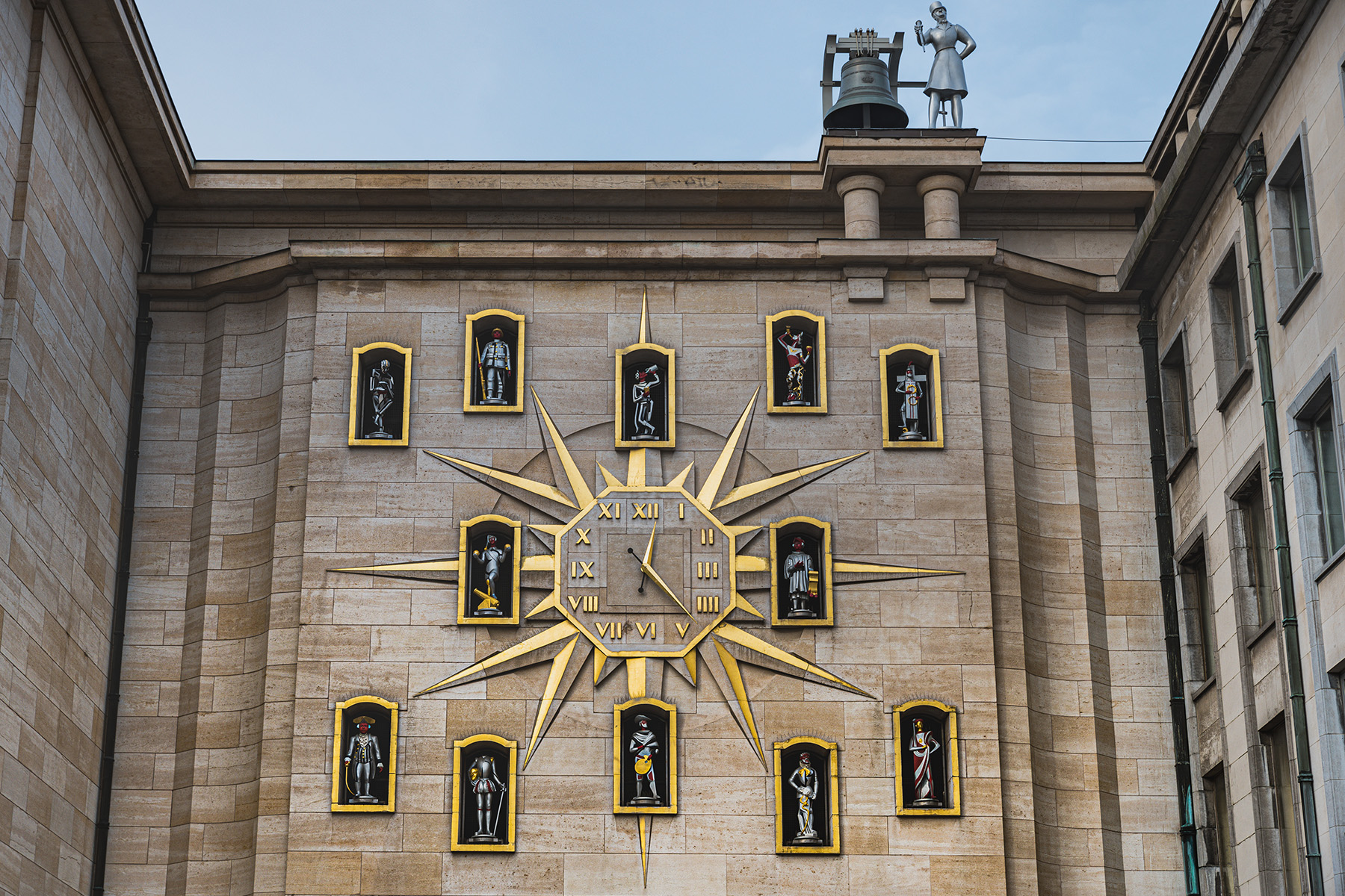 Carillon bells in Brussels