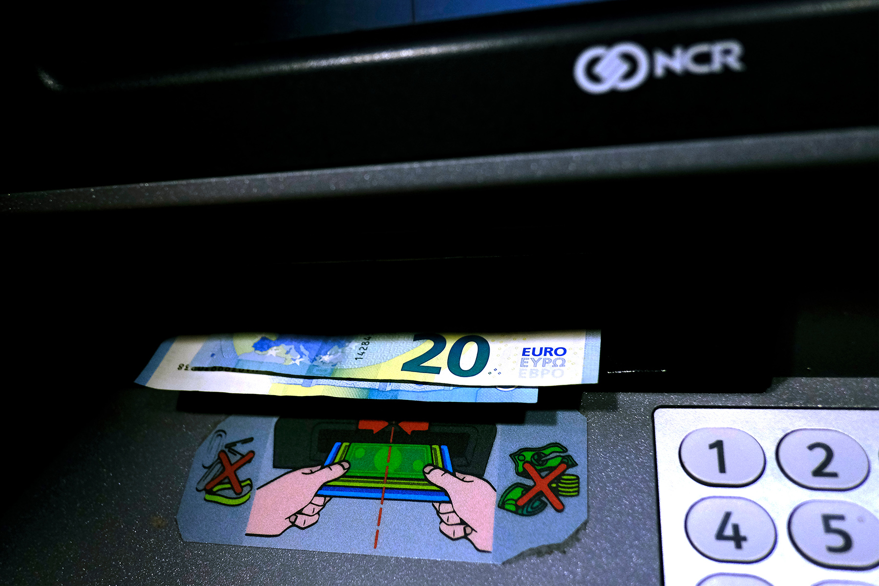 Cash is still widely used in Belgium