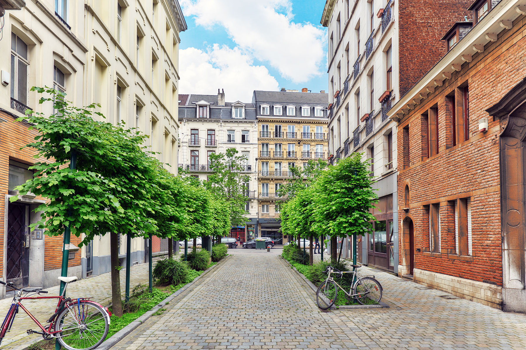 Houses in Brussels