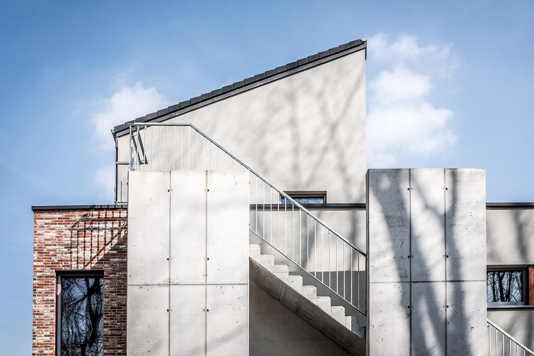A house in Louvain-la-Neuve