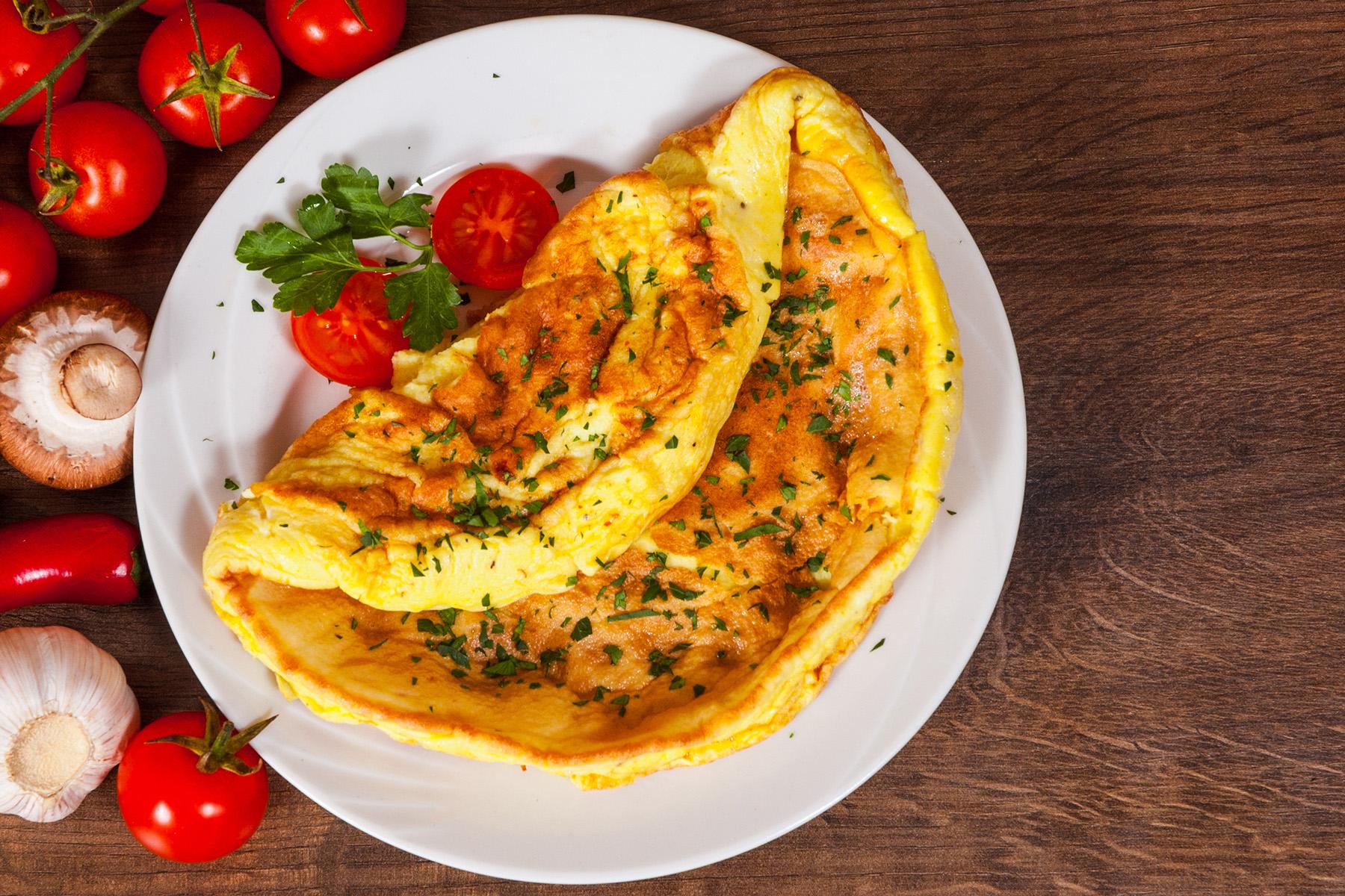 rum omelette