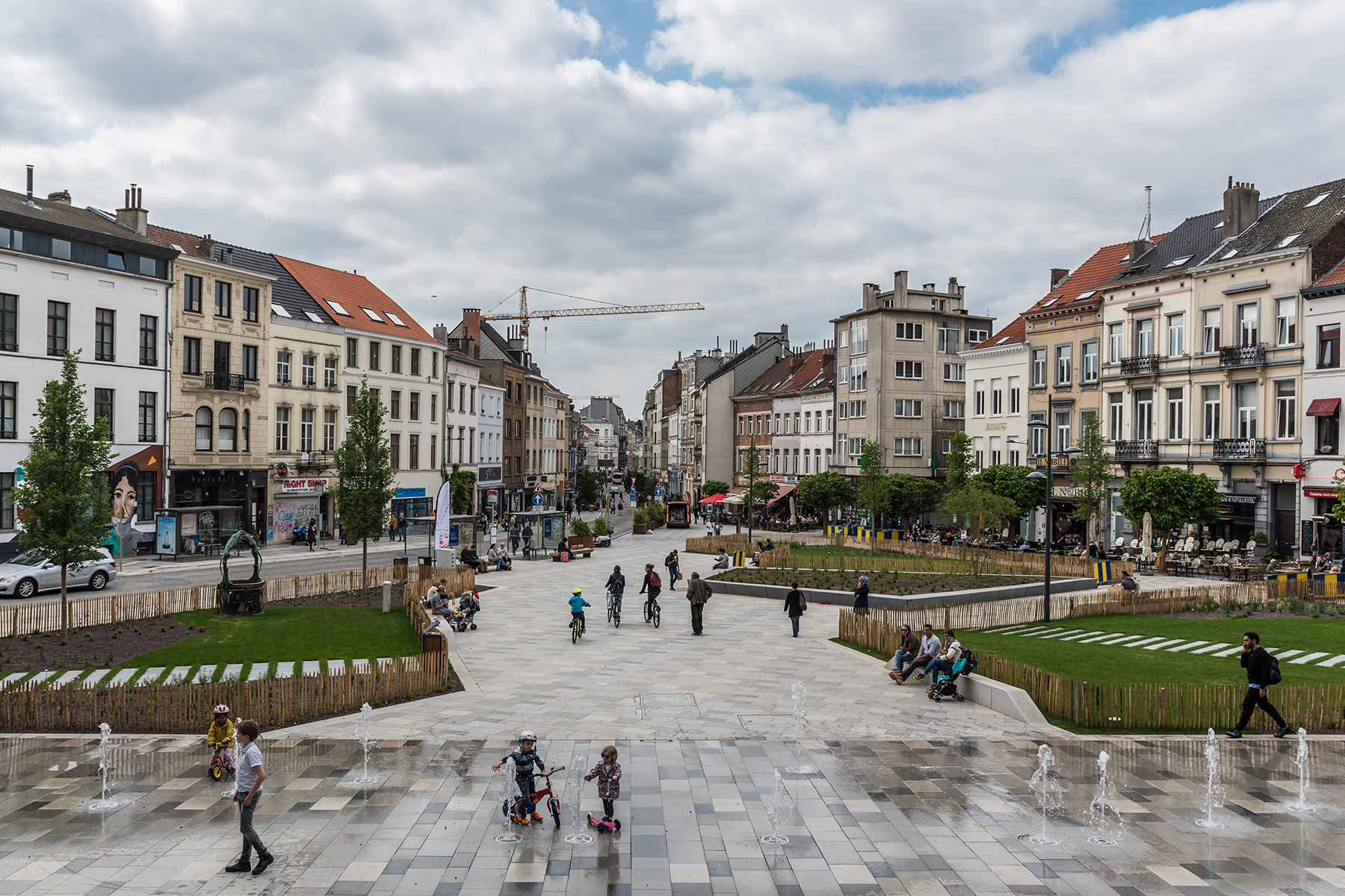 Place Fernand Cocq in Ixelles