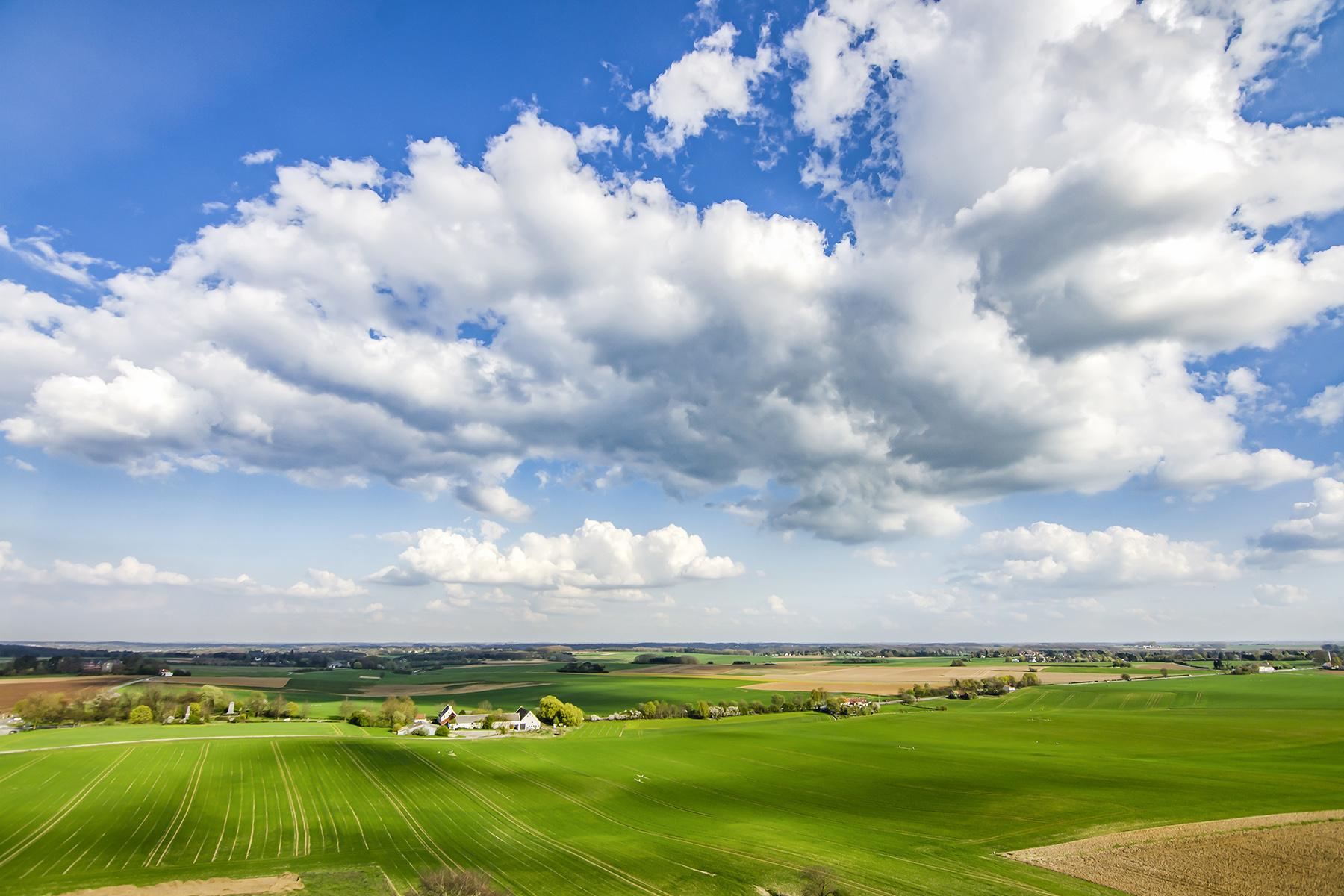 Fields surrounding Waterloo