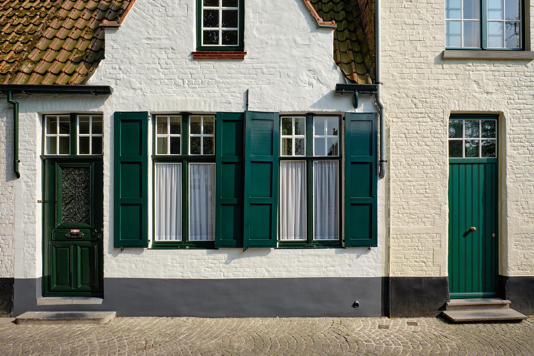 House façades in Bruges