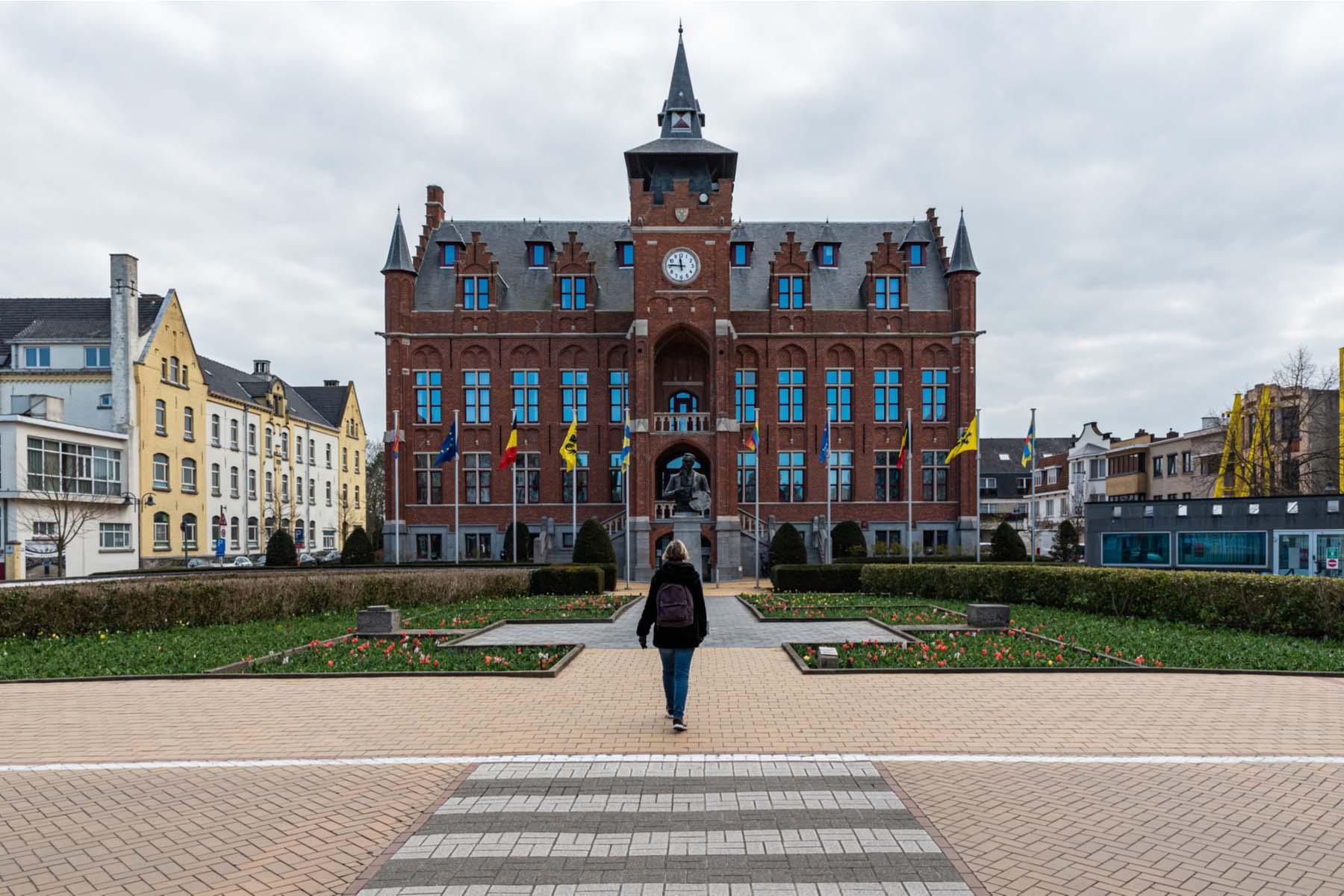 Belgian town hall