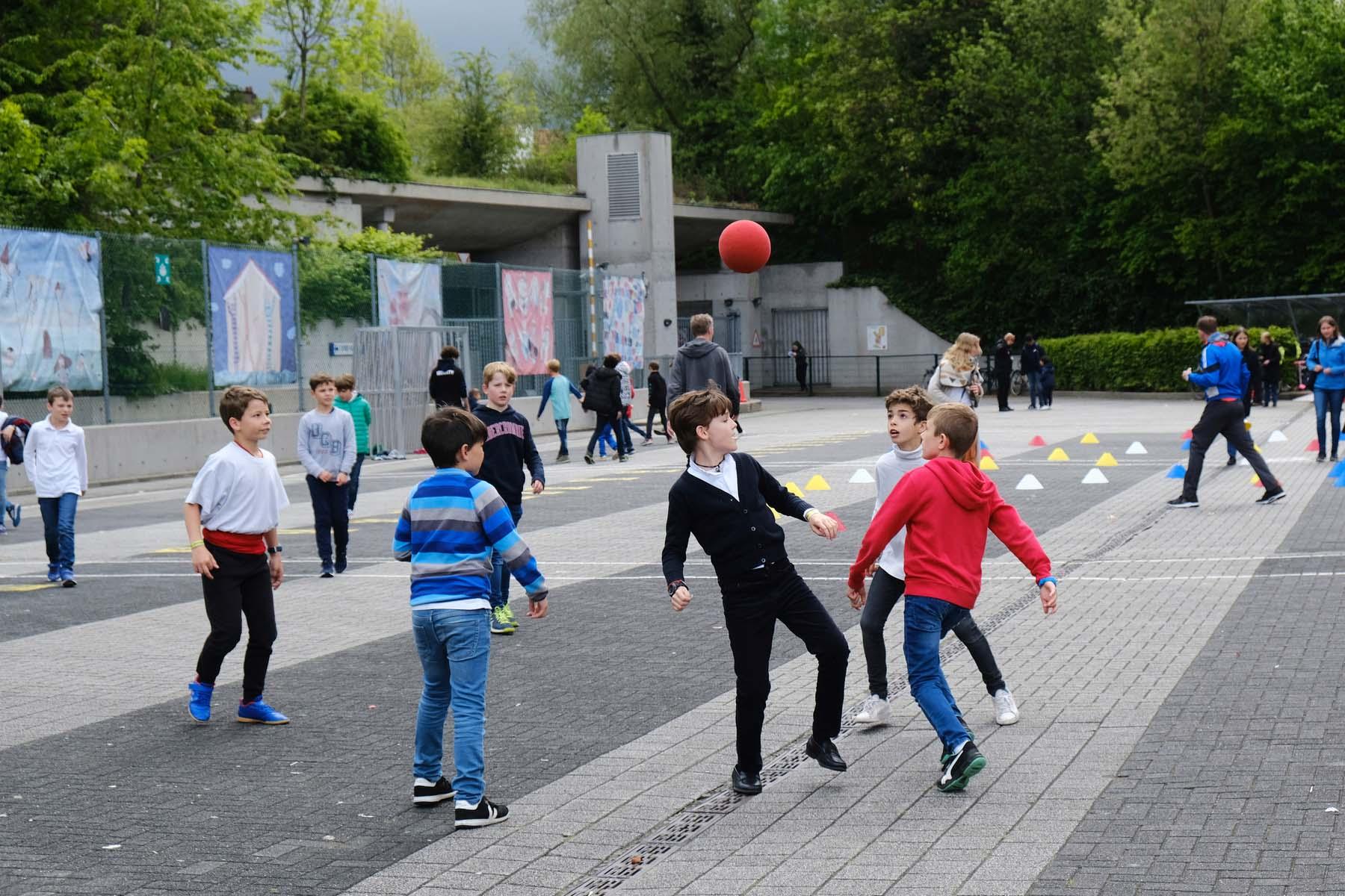 school in Belgium