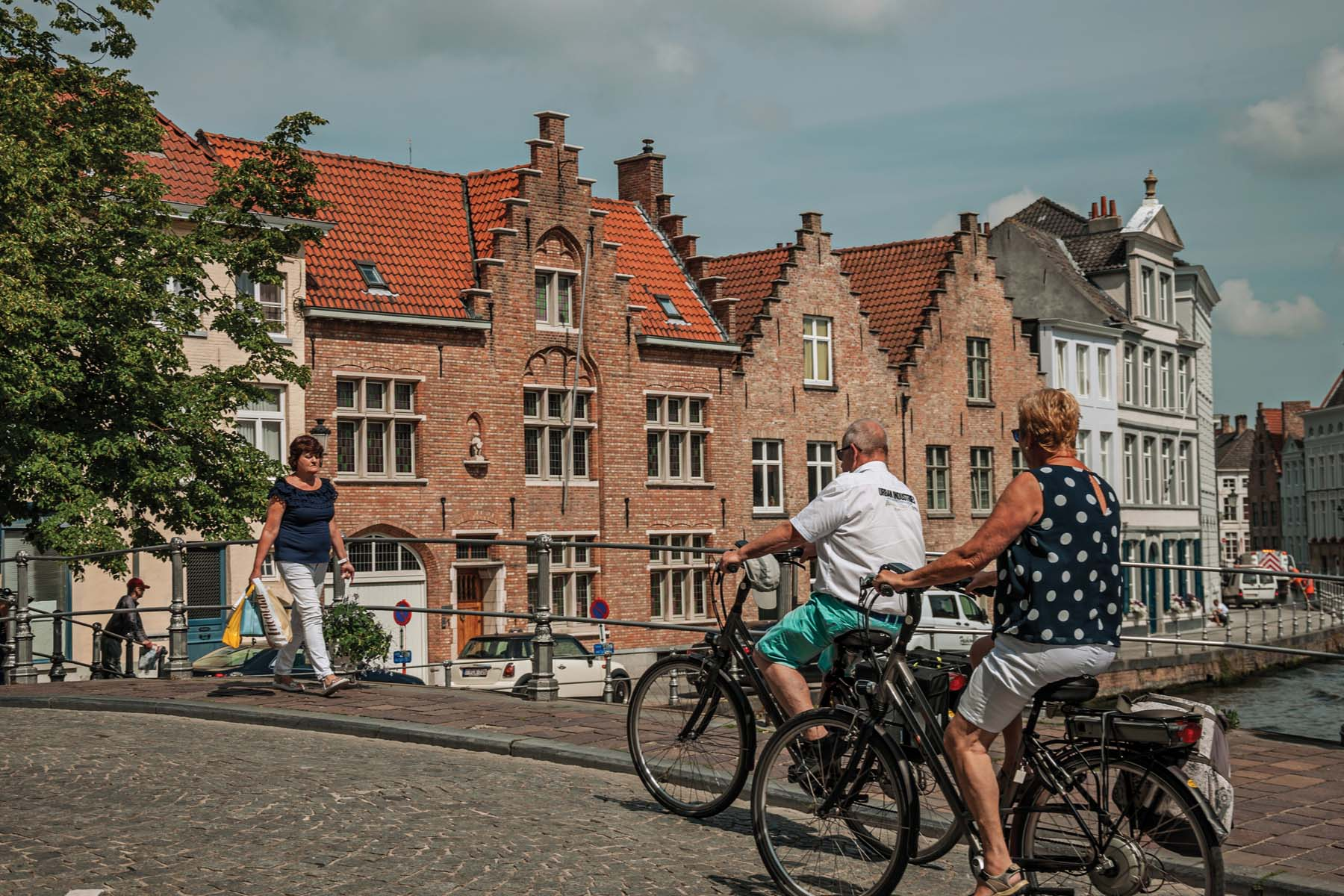 cyclists in Belgium