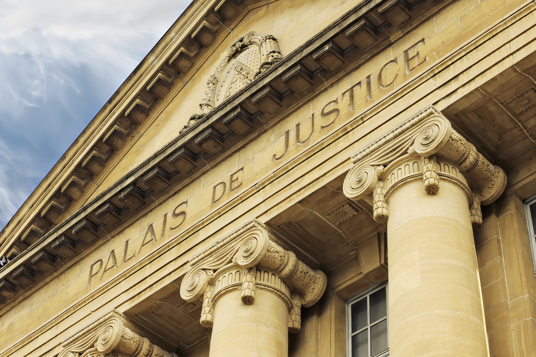 Court of law in Sarreguemines, France