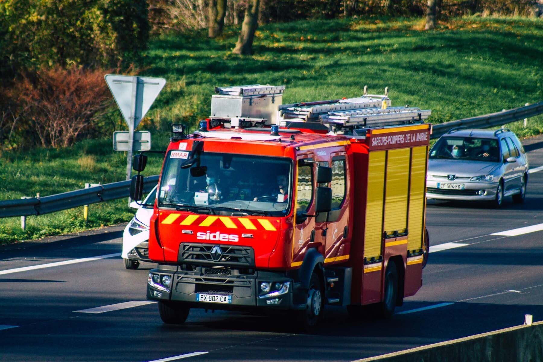 fire engine france