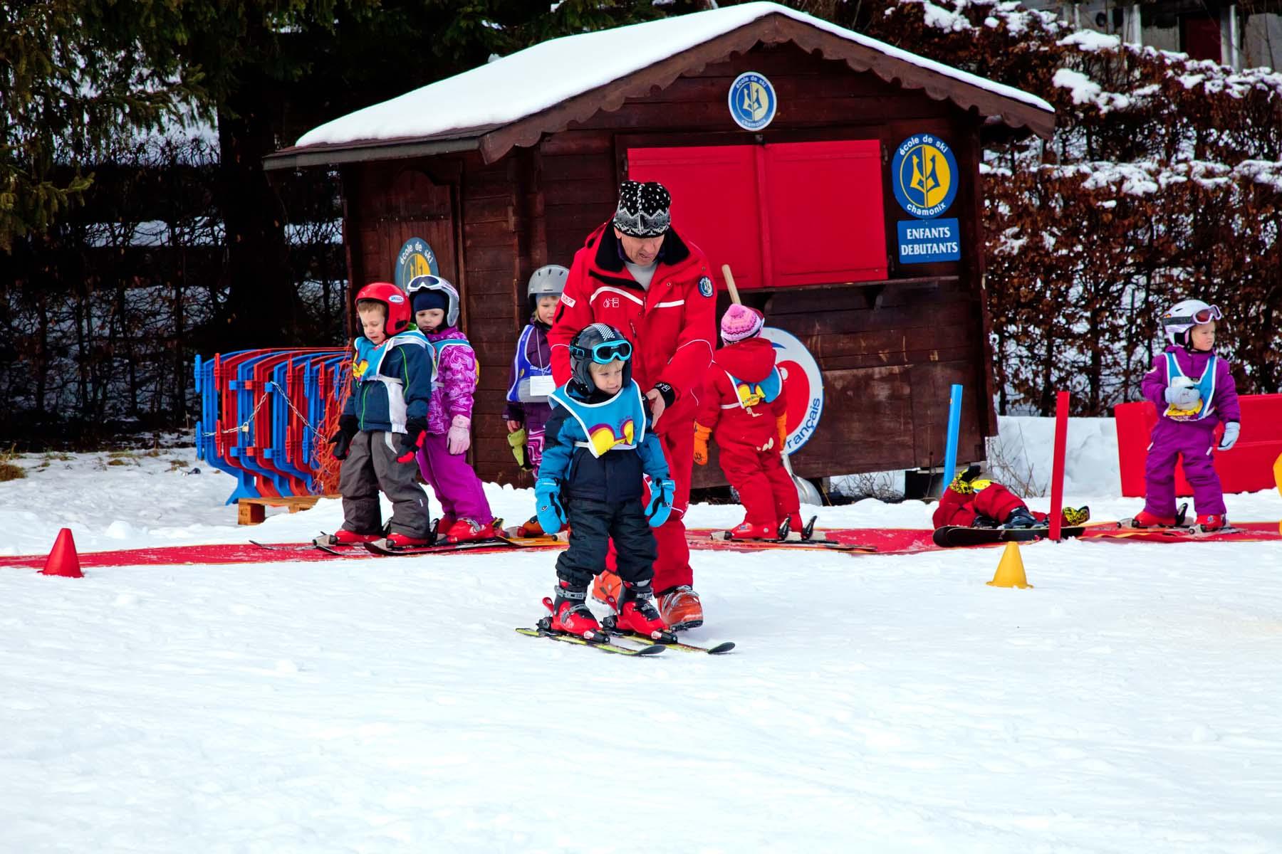 Ski instructor in France