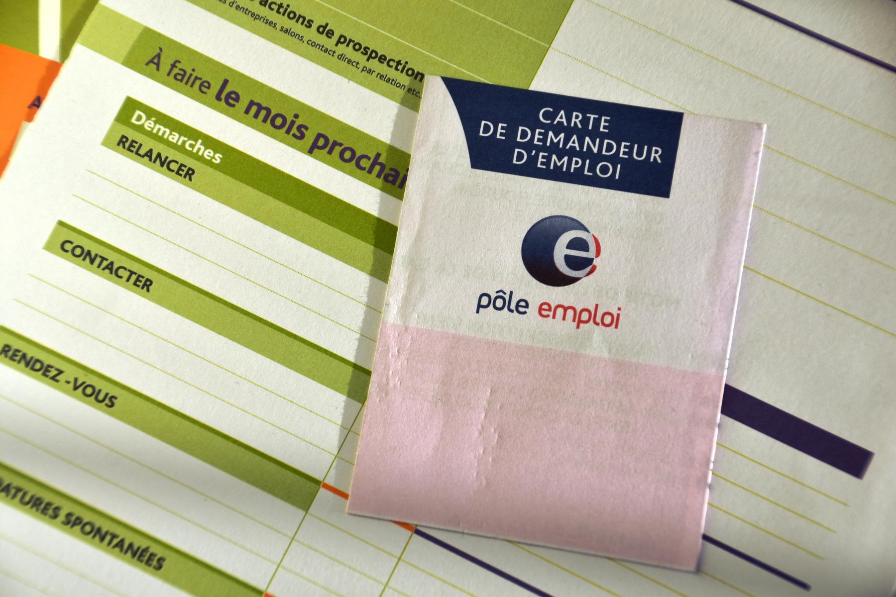 French jobseeker's card