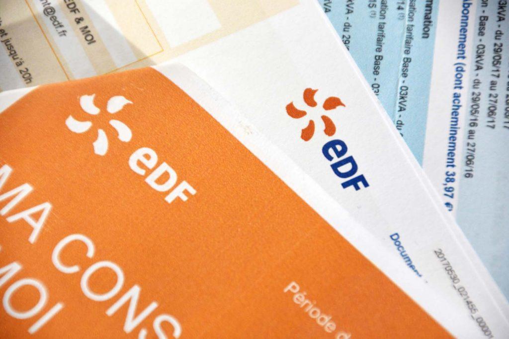 French utility bill EDF