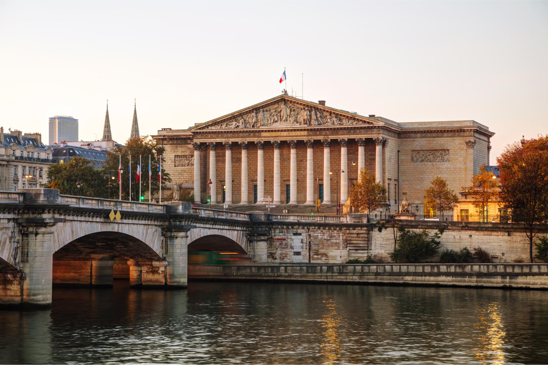 Palais Bourbon in Paris