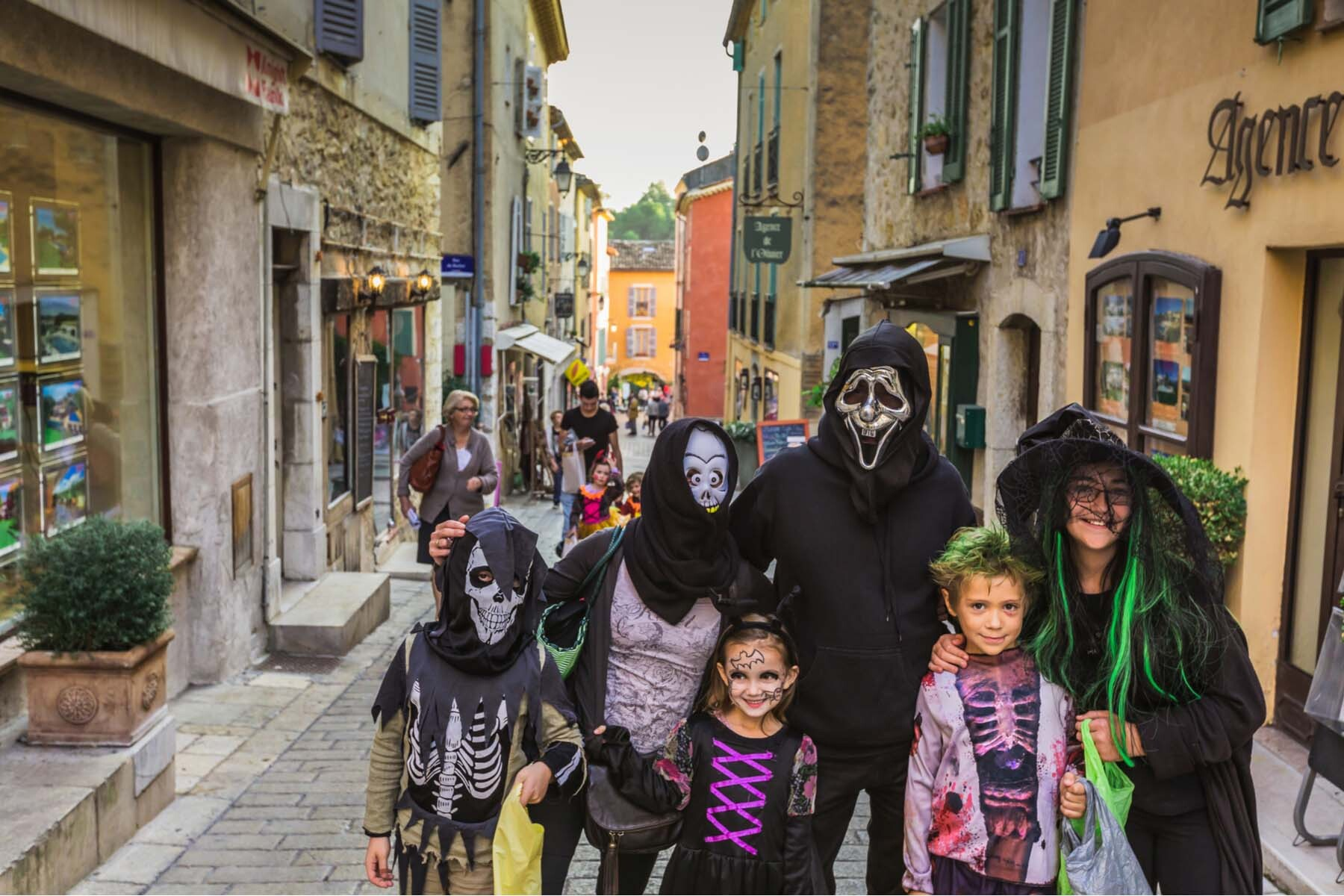trick or treating in France