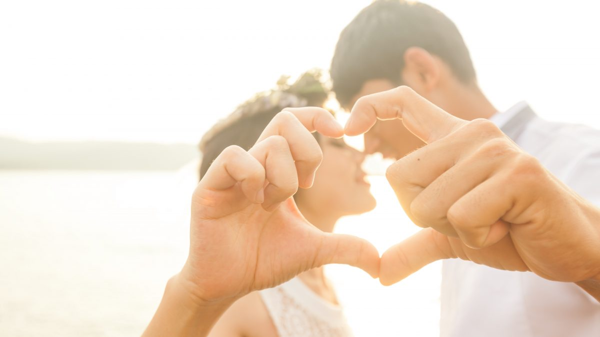 Love marriage and partnership in France