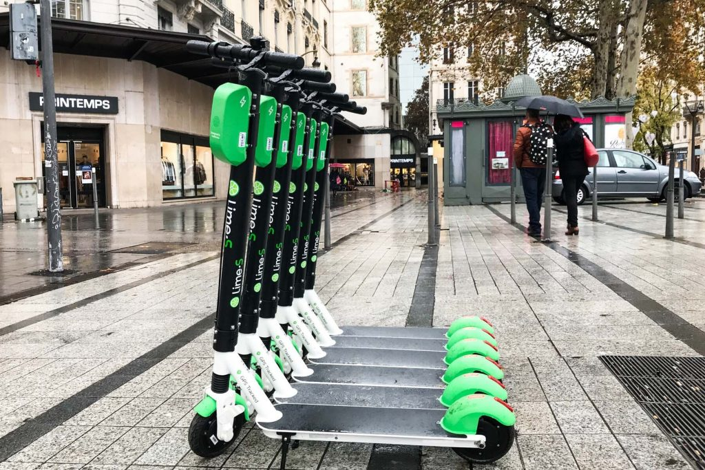best apps france – lime scooters lyon