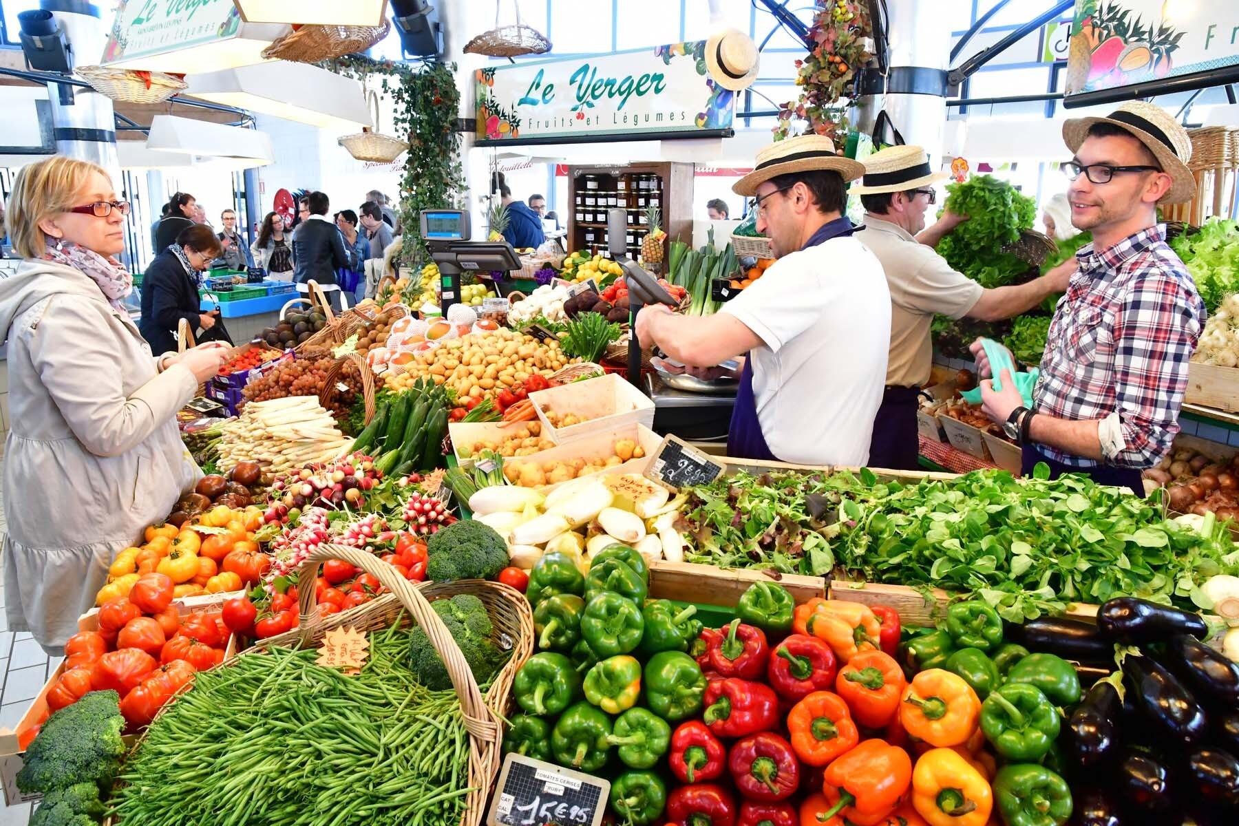 france fruit veg market