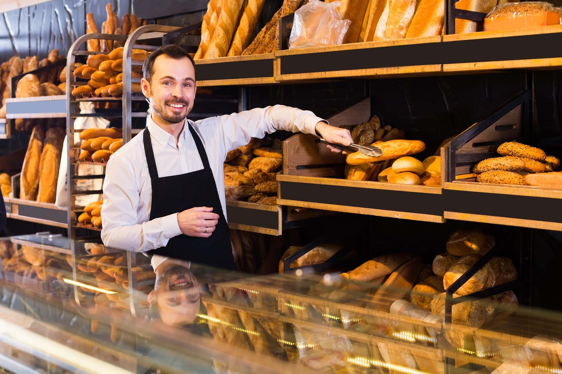 baker in France
