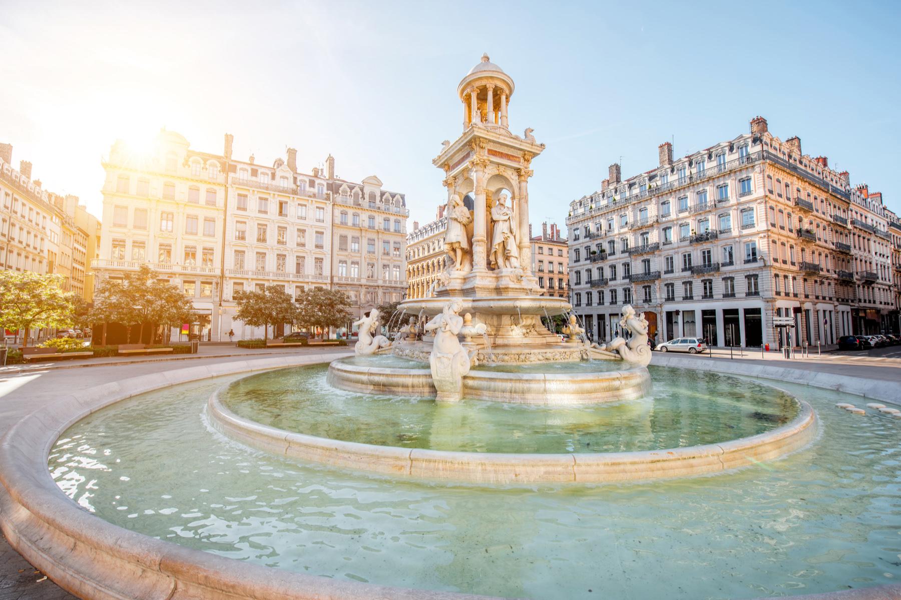 Places des Jacobins in Lyon
