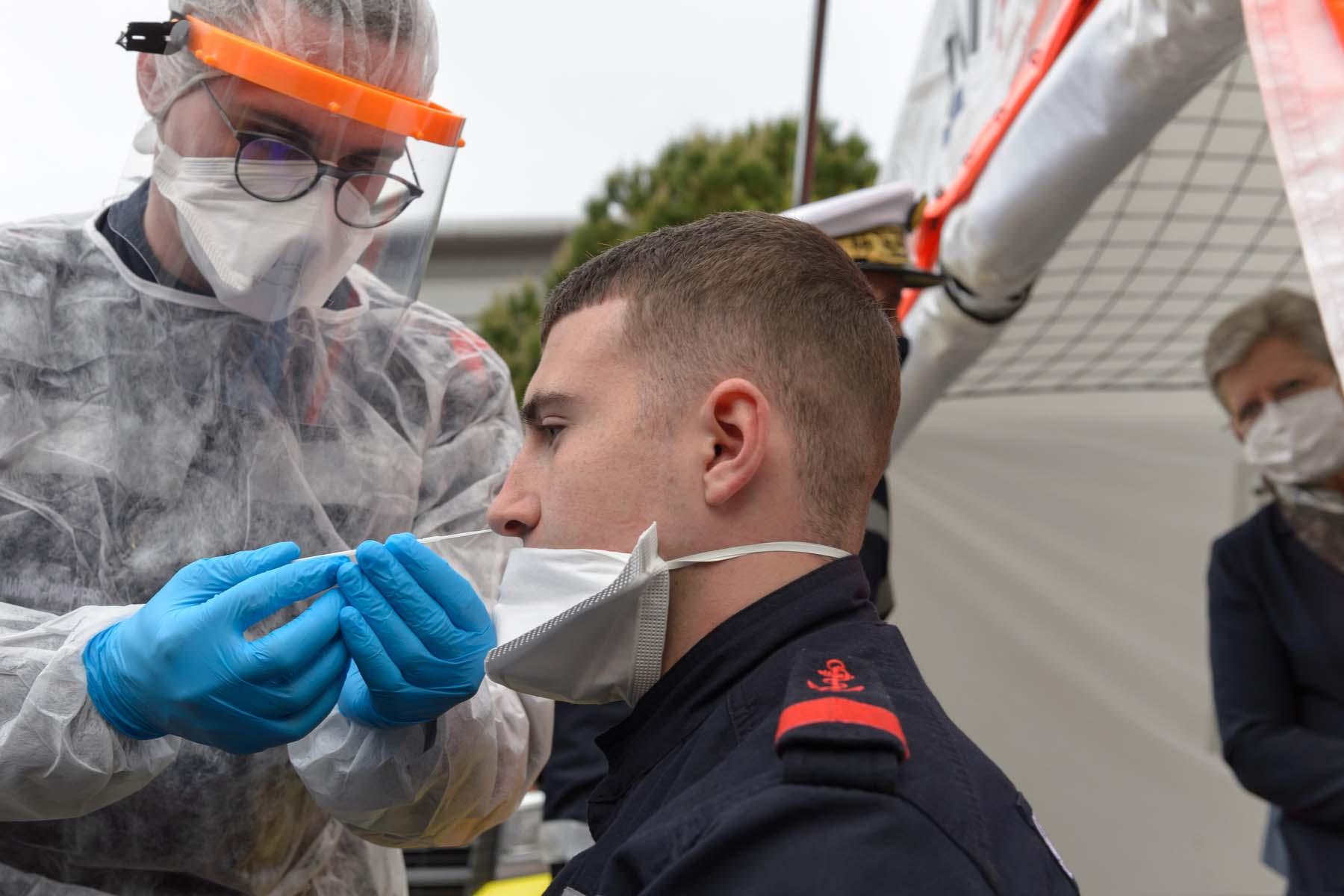 coronavirus testing in France