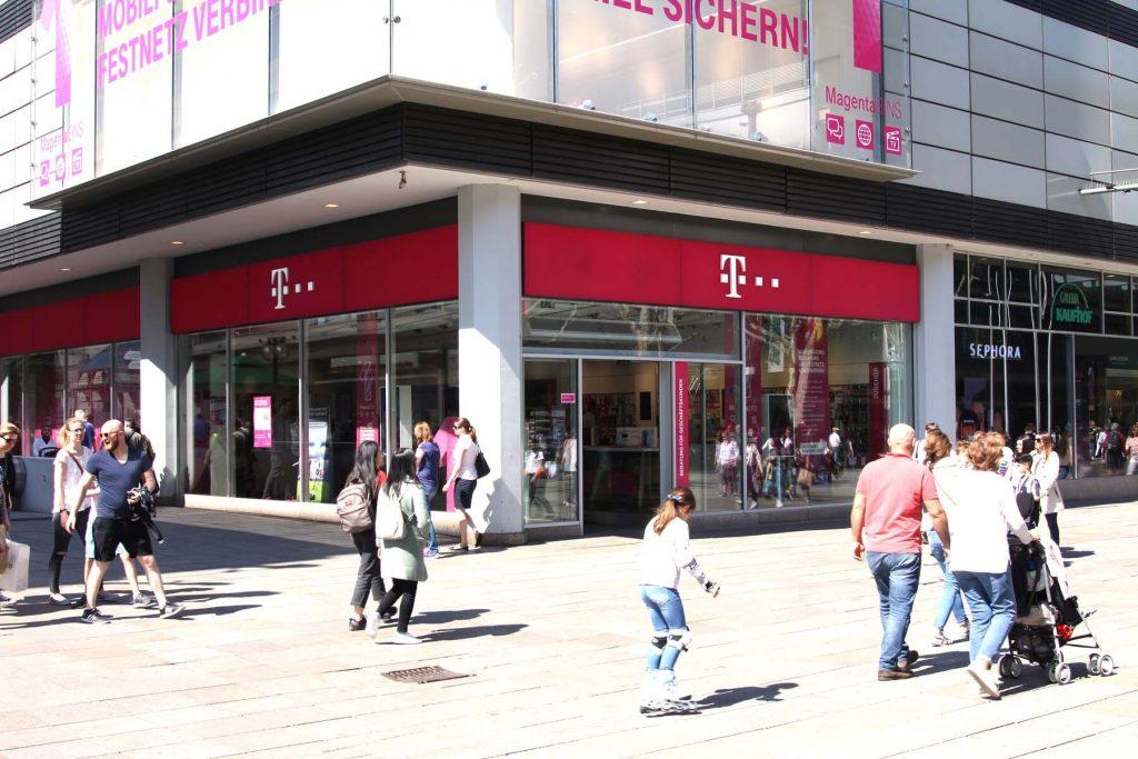 internet in Germany - Telekom shop