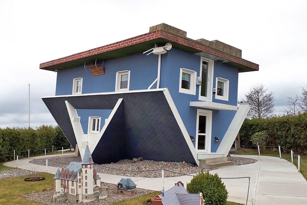 Germany off the beaten path: Upside-Down House of Trassenheide