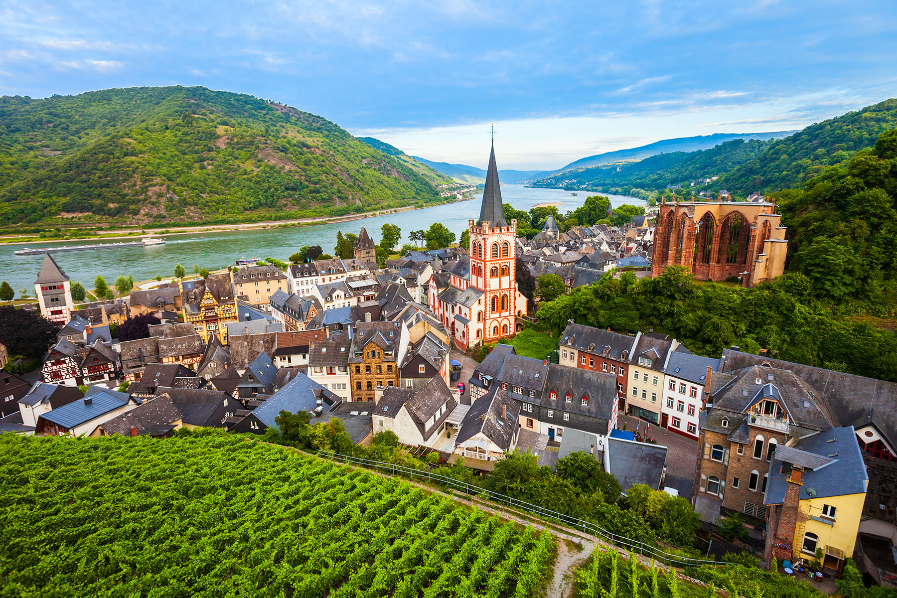 The village of Bacharach