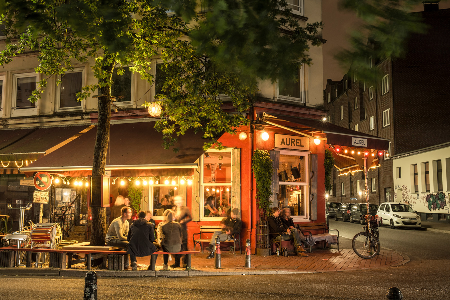 Bars in the Altona borough of Hamburg