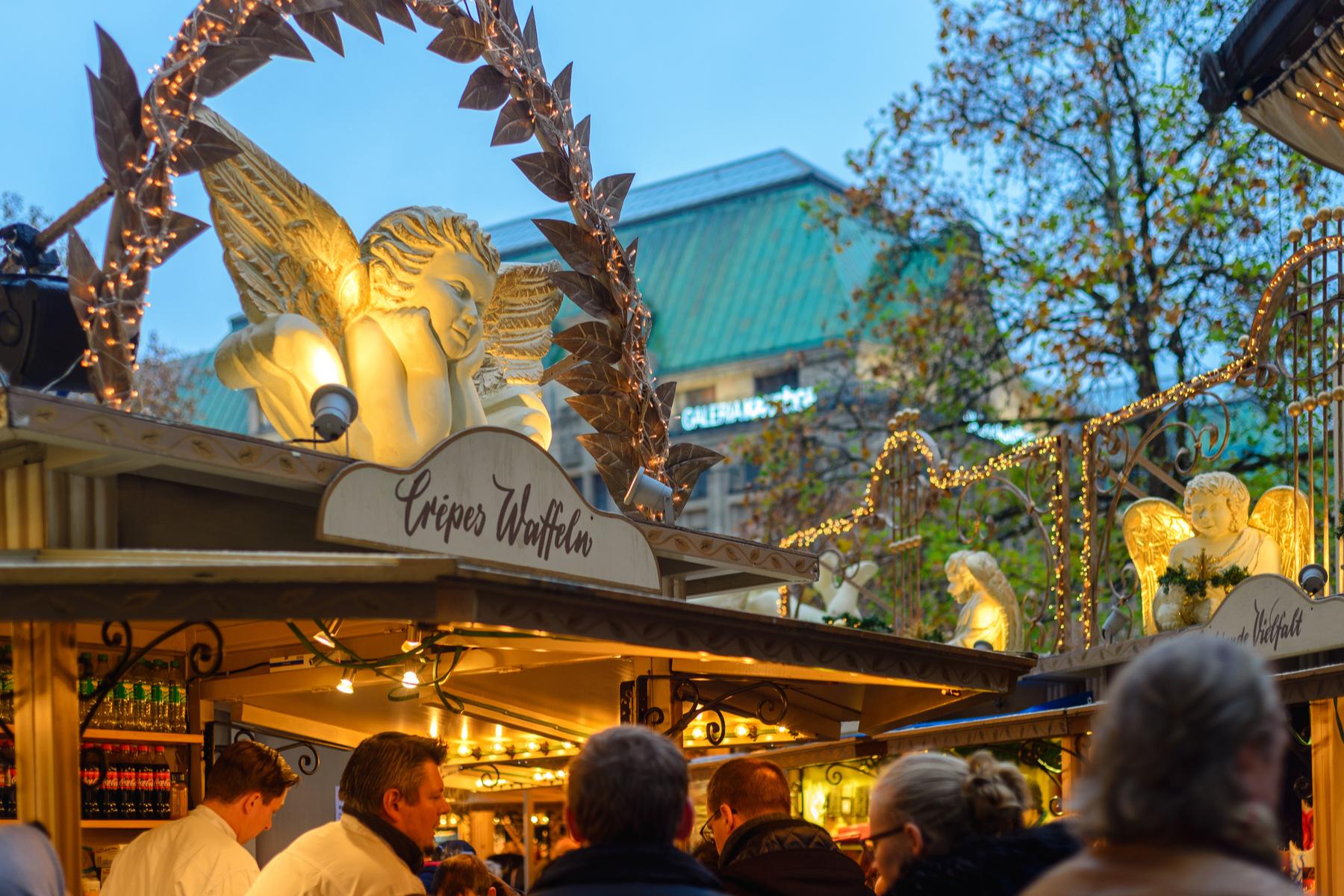 Engelchenmarkt in Düsseldorf