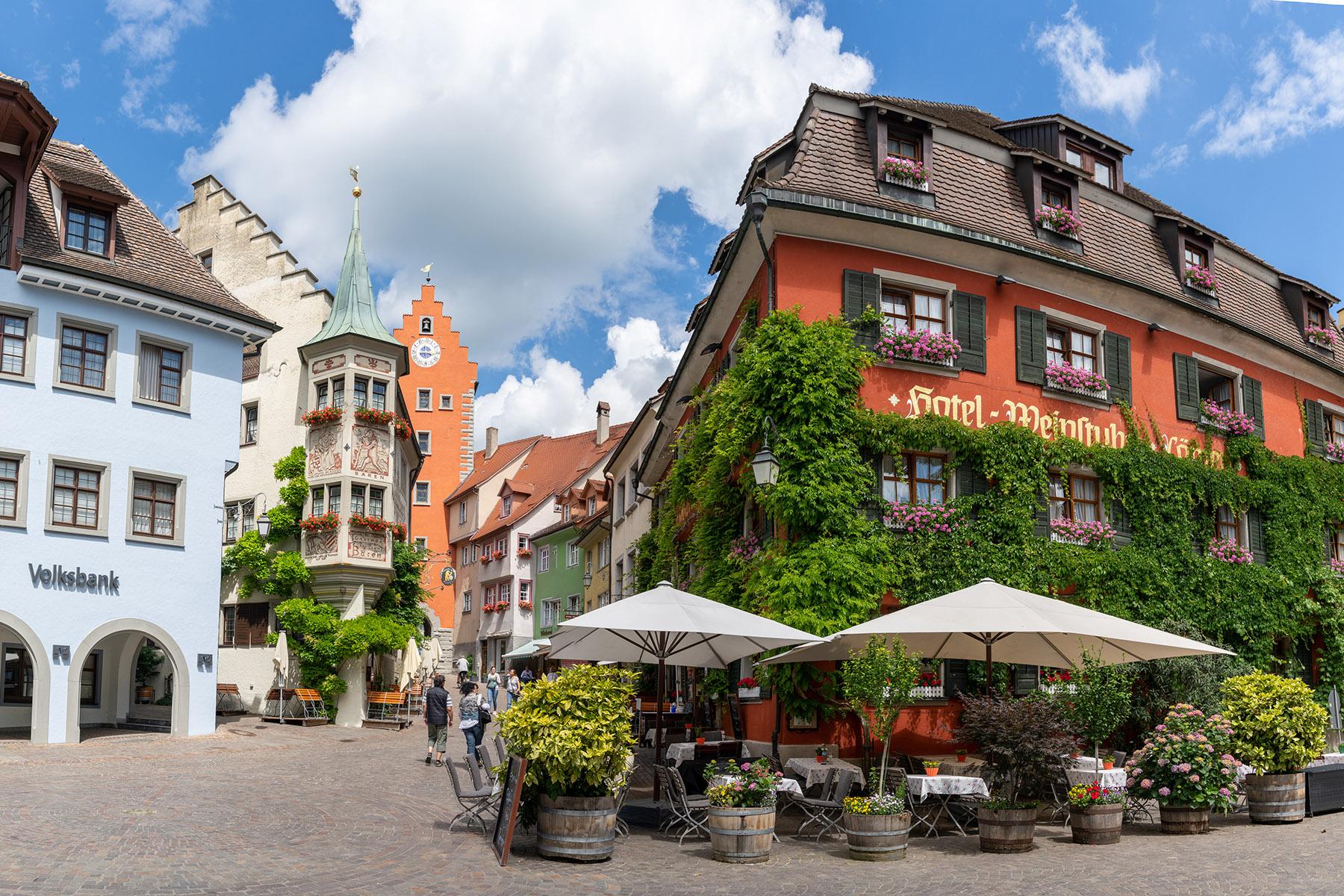 The old town of Meersburg