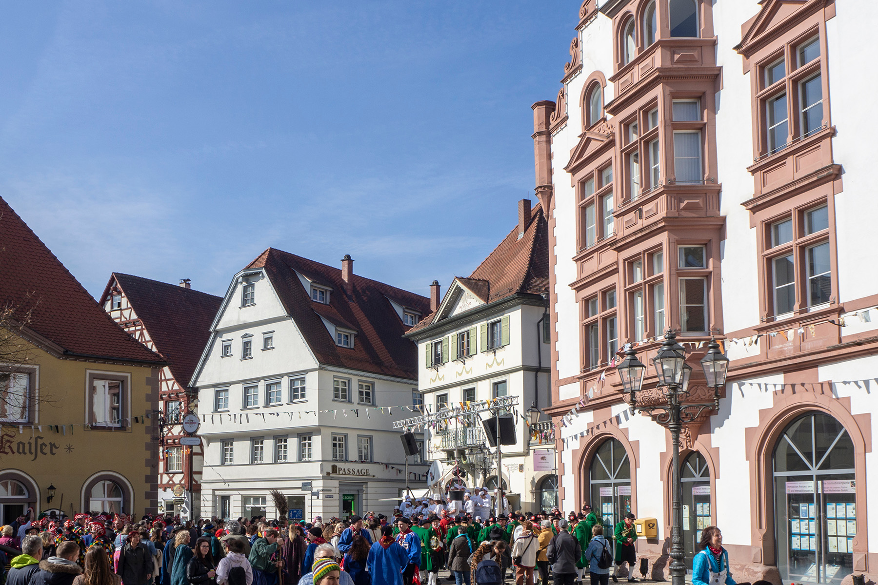 The city center of Pfullendorf