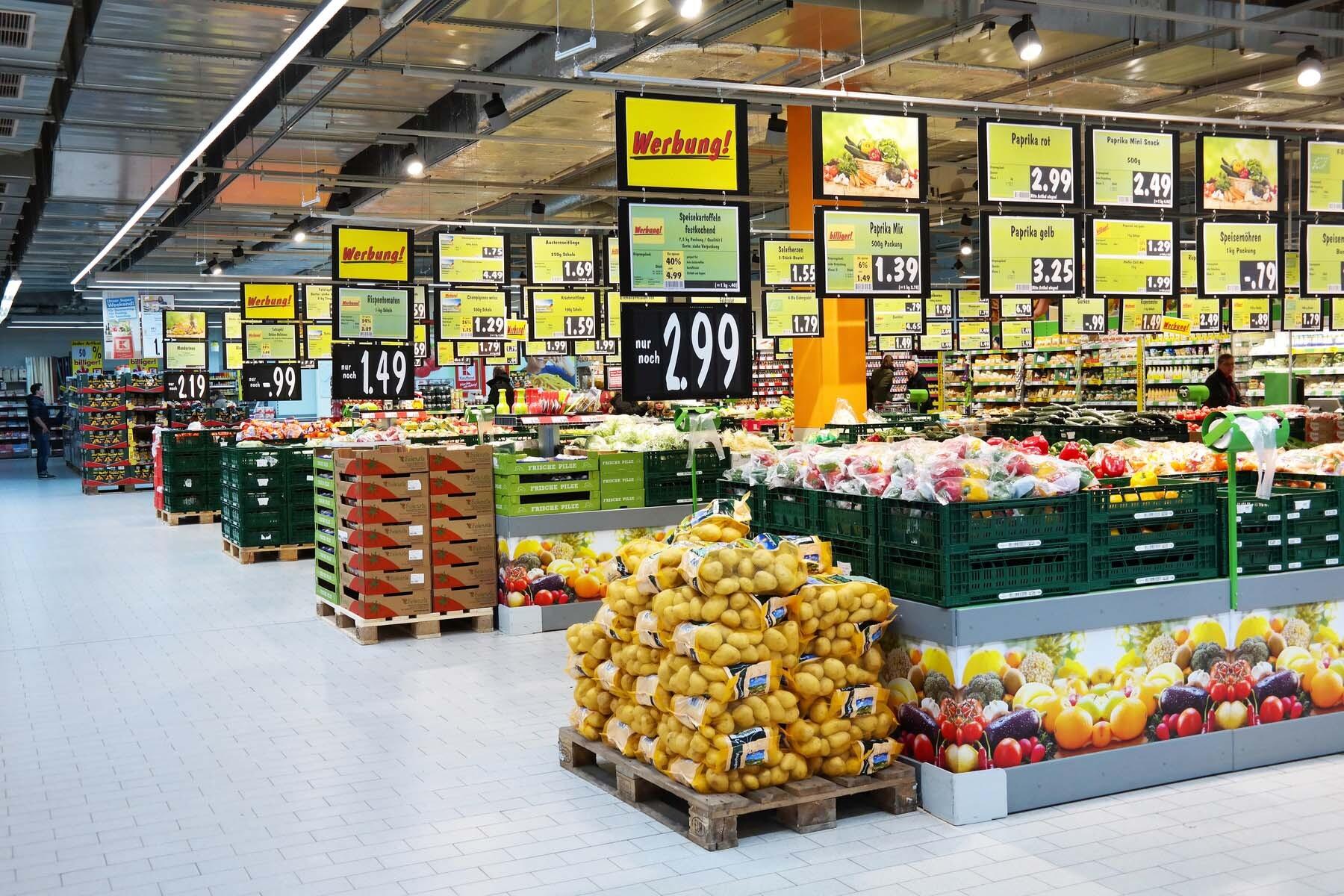 supermarkets germany