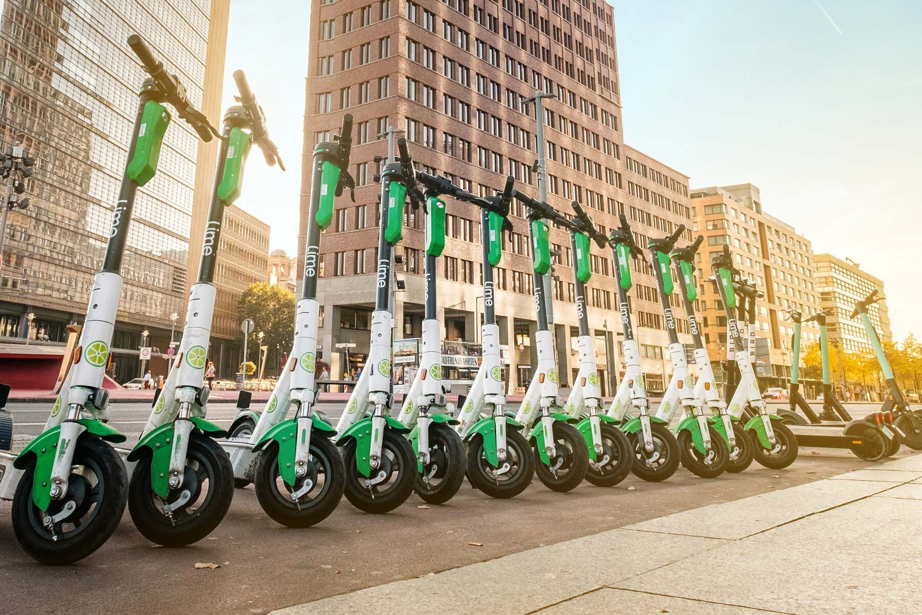 lime e-scooters berlin