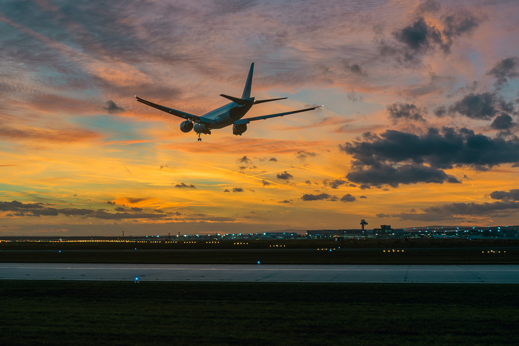 Arrival at Frankfurt International Airport