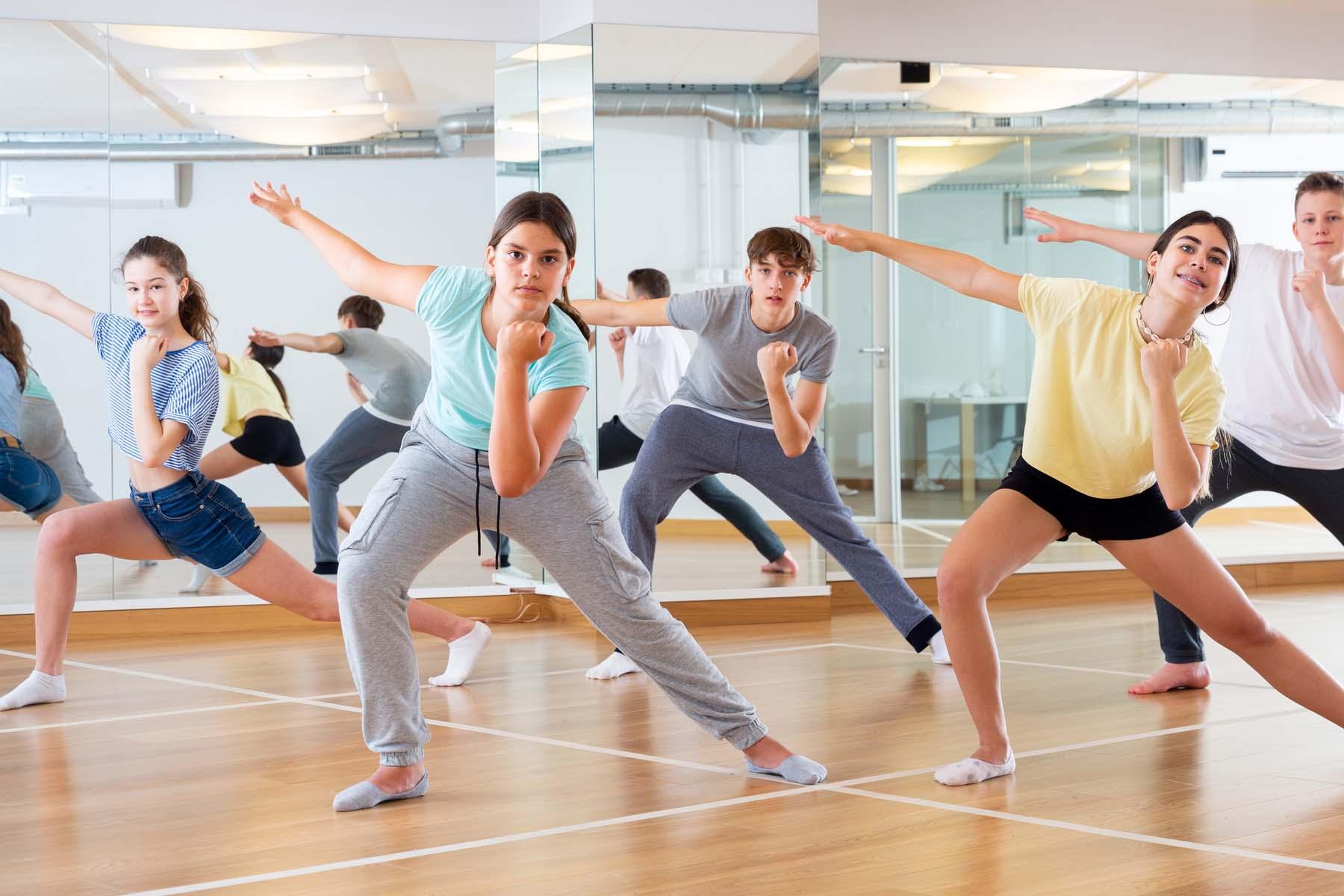 dance class in Germany