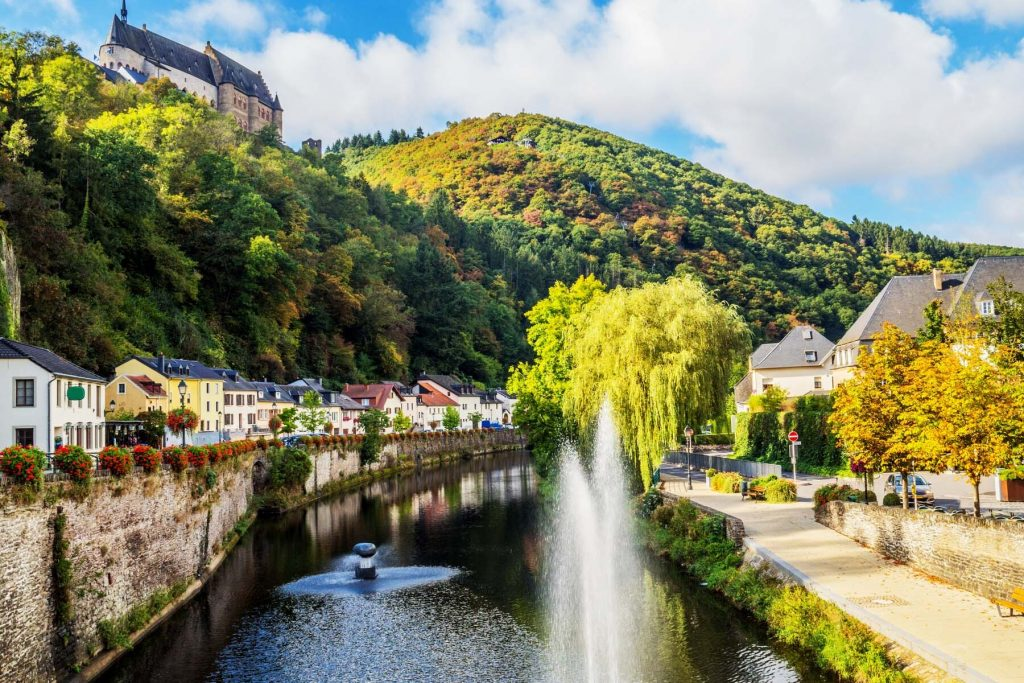 water supply in luxembourg