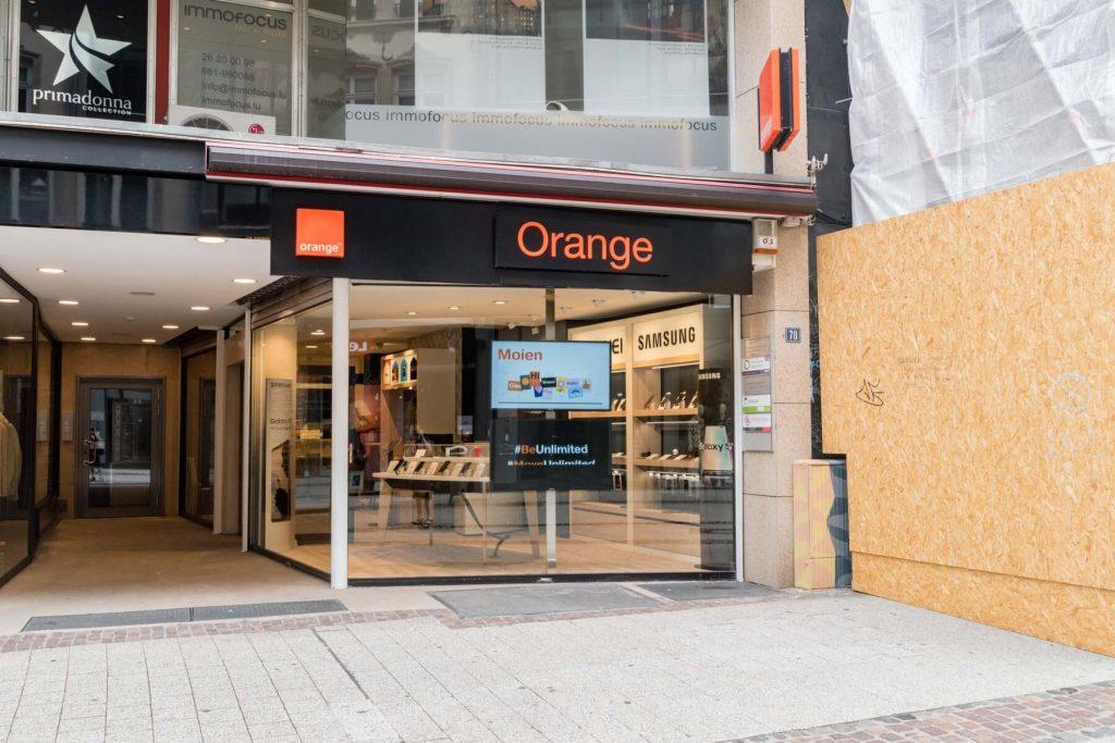 mobile operator orange in Luxembourg