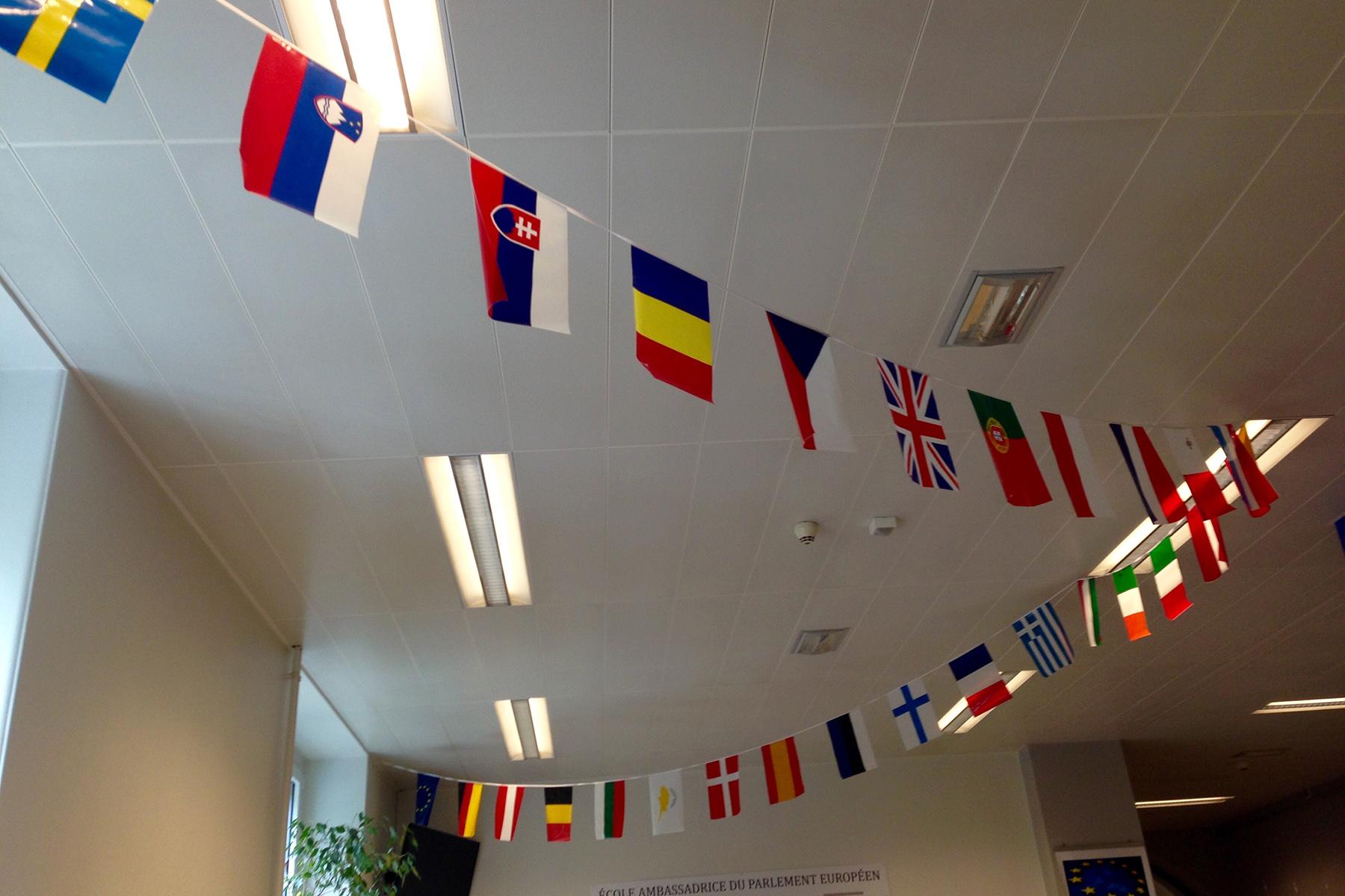 An international school classroom in Limpertsberg