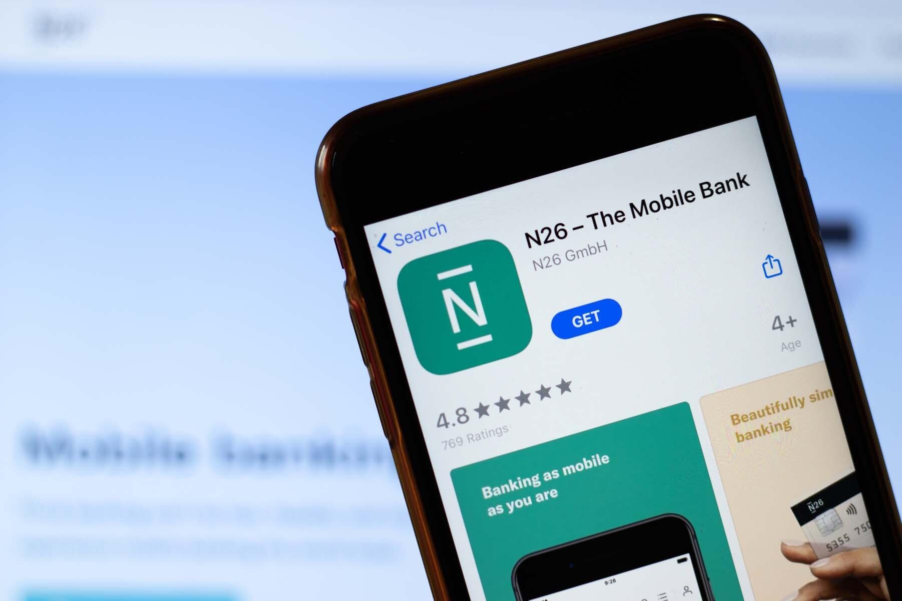 mobile bank n26