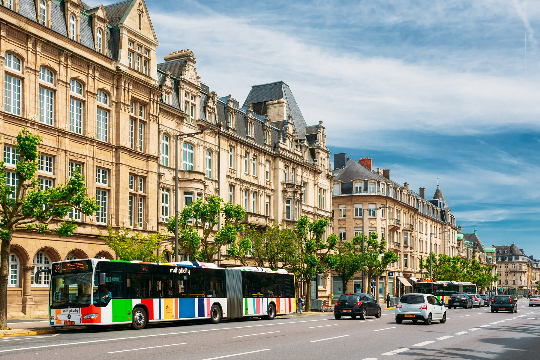 AVL bus in Luxembourg