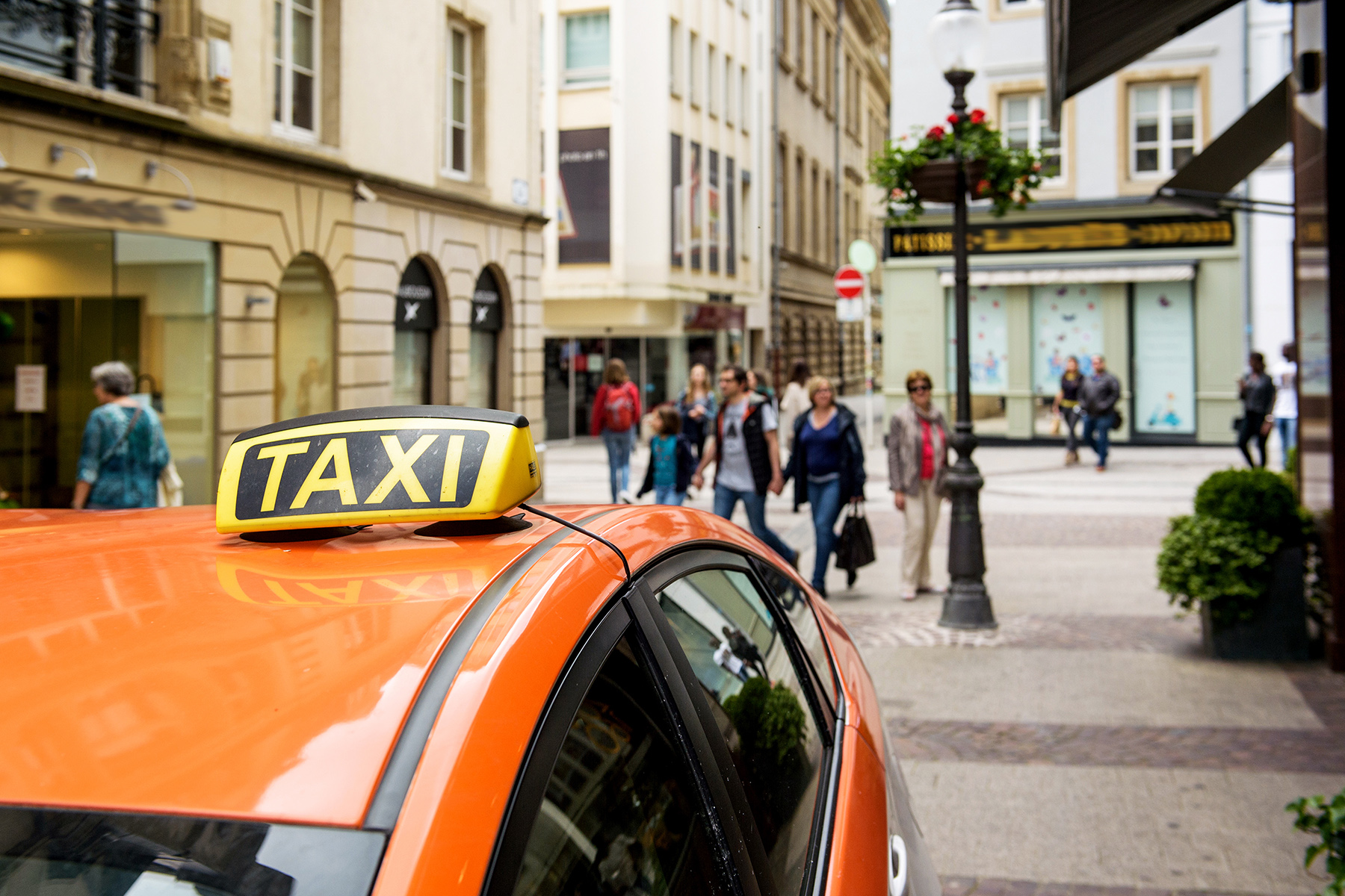 Taxi in Luxembourg City
