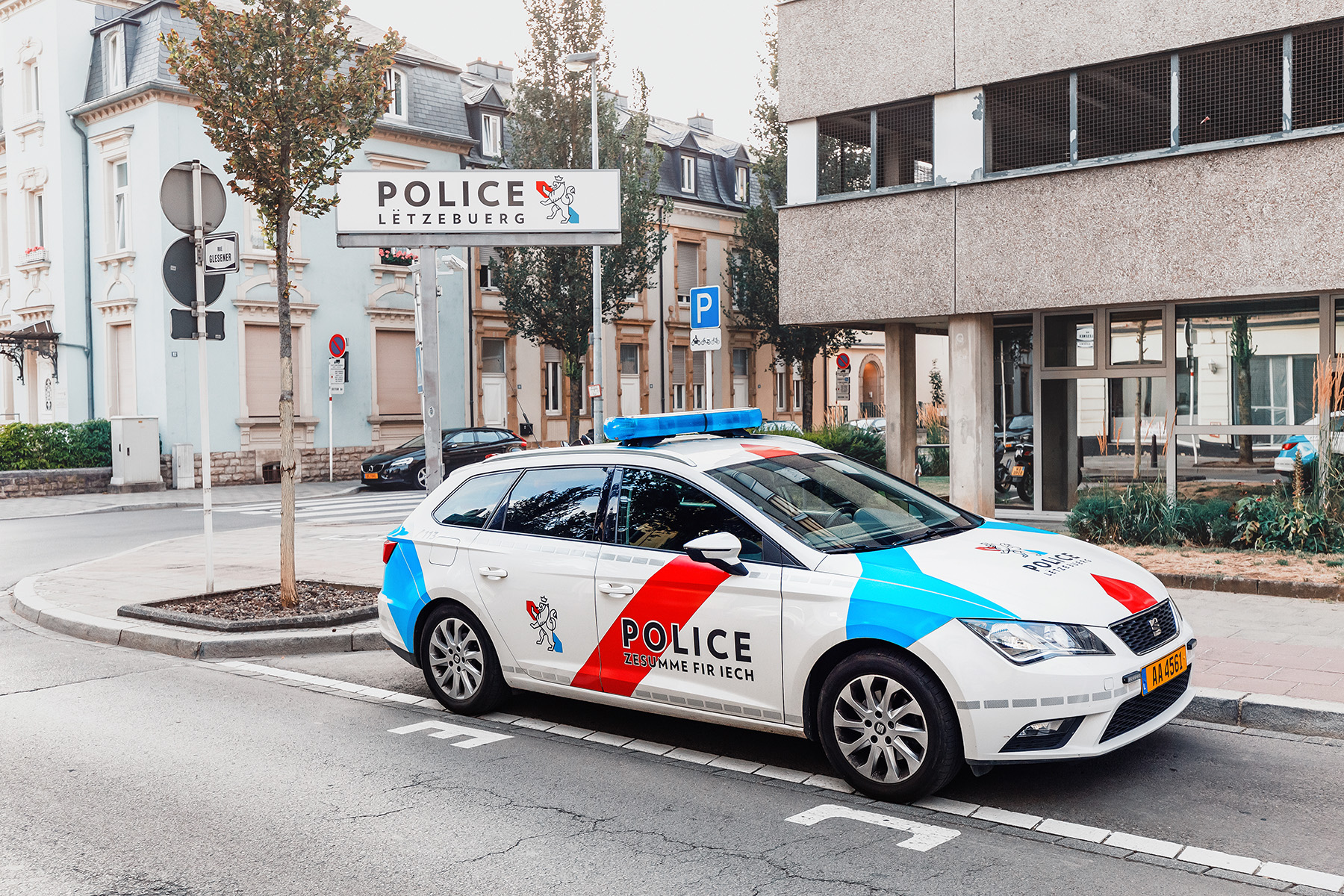 Police station in Luxembourg