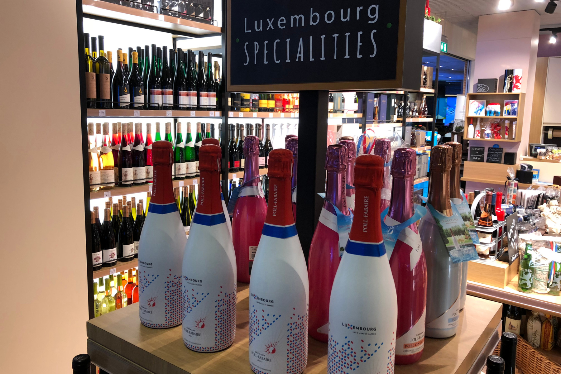 Sparkling wine from Luxembourg