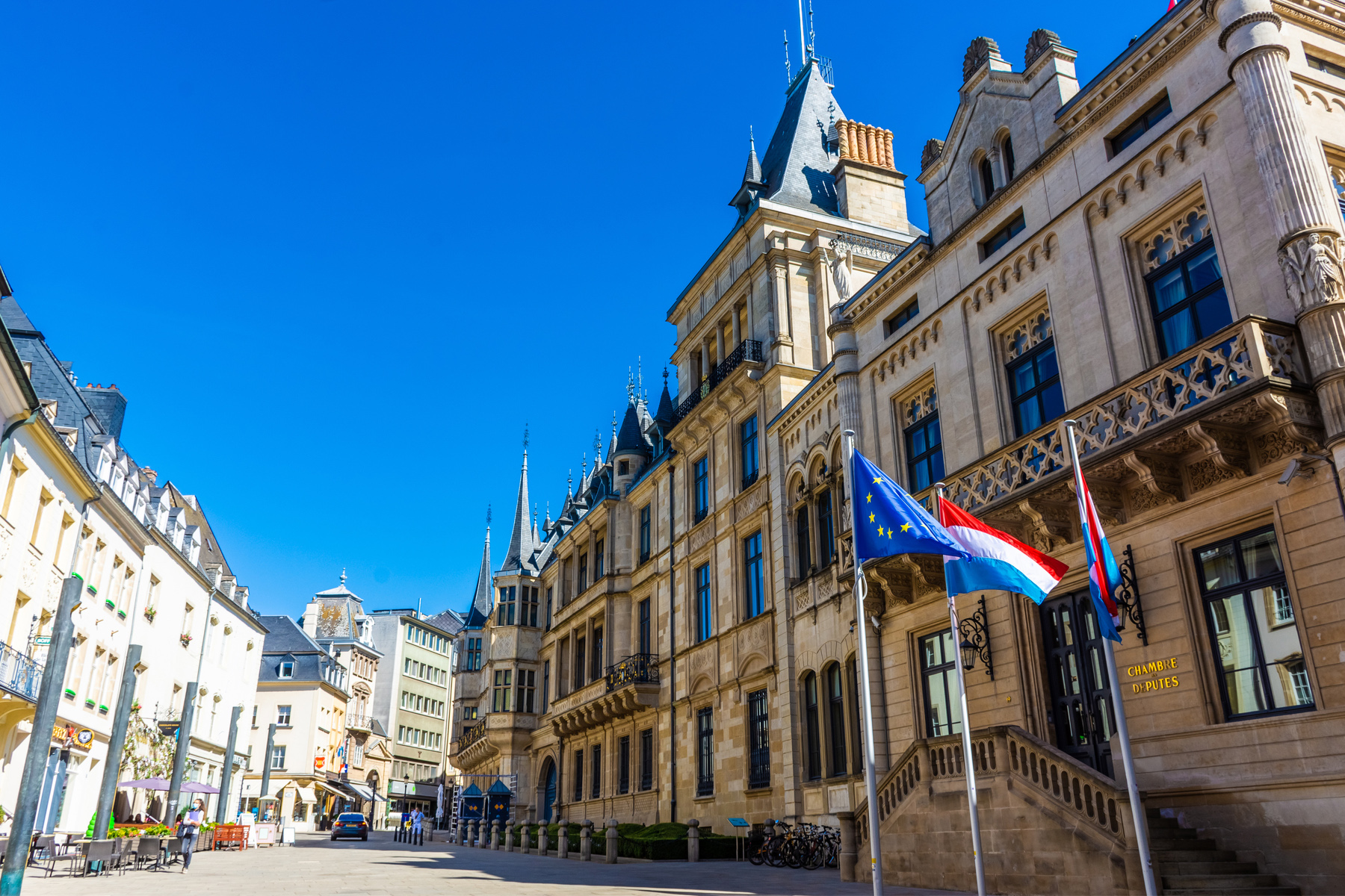 Hôtel de la Chambre in Luxembourg