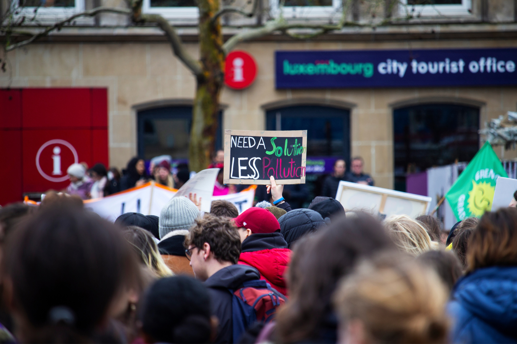 Protest in Luxembourg City