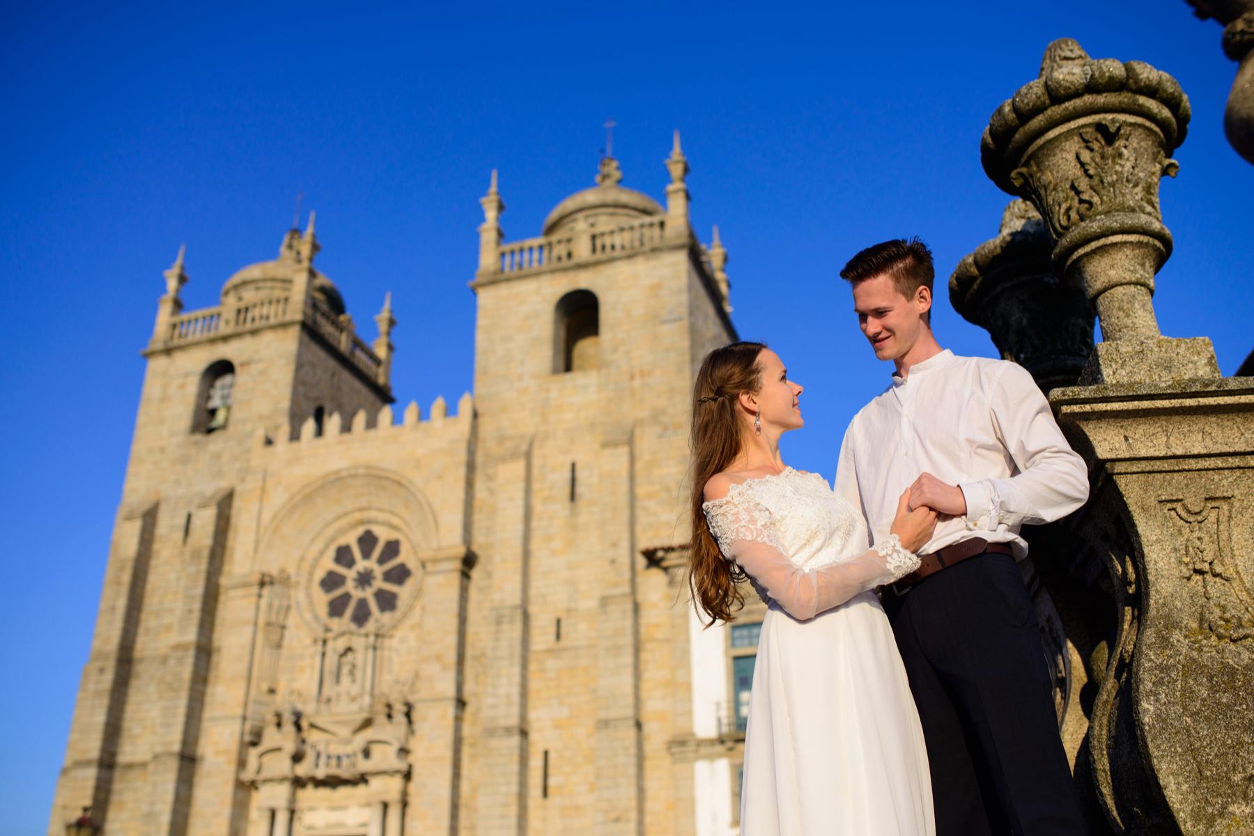 Church wedding in Portugal