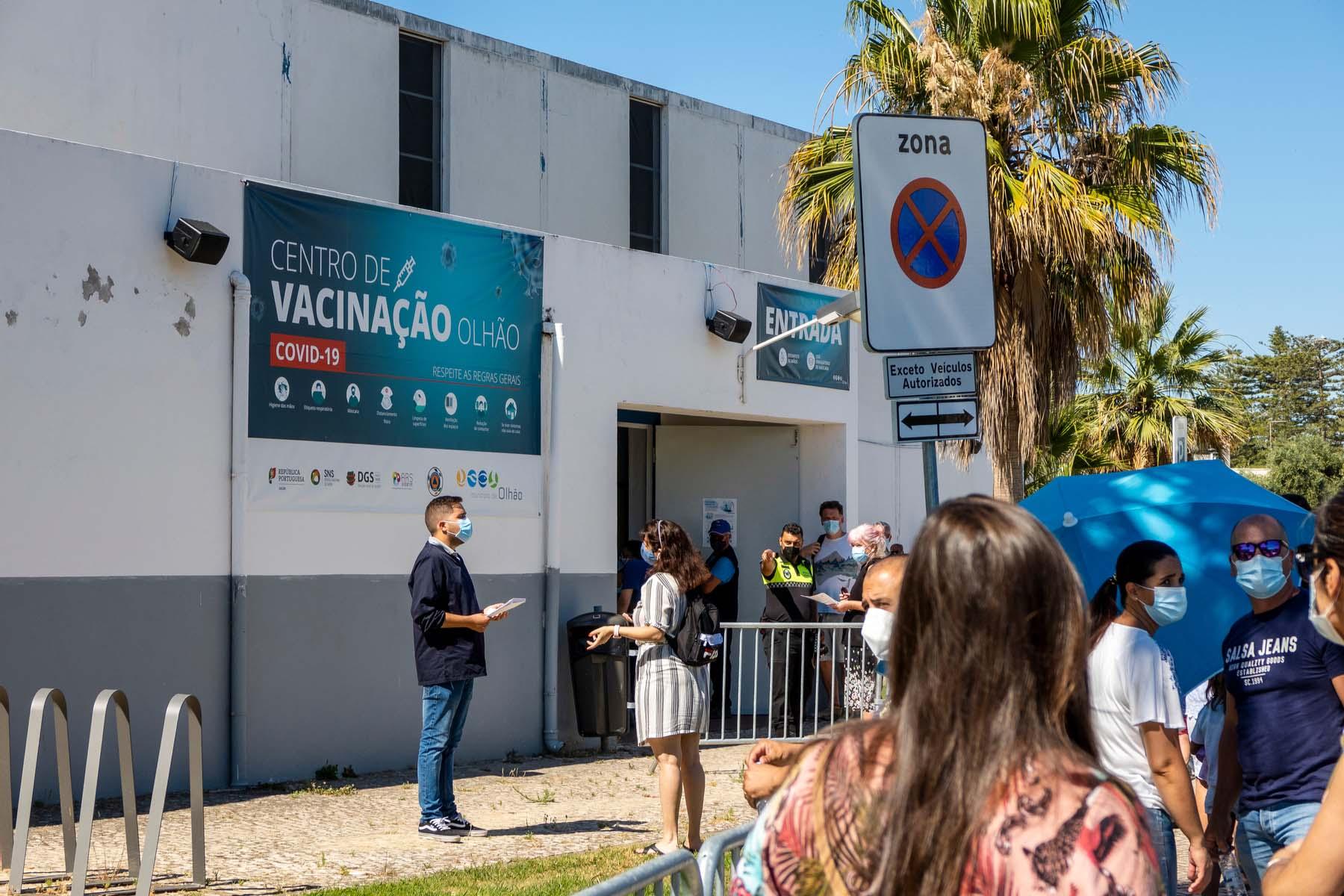 vaccination center Portugal