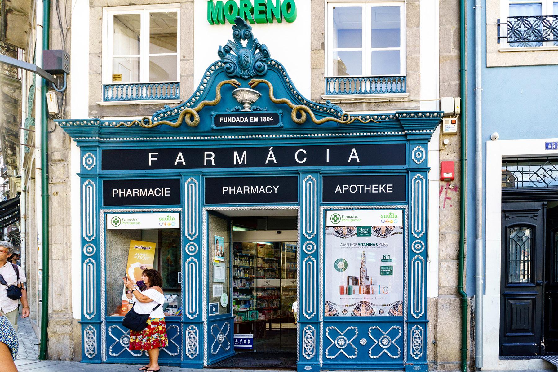 Pharmacy in Lisbon