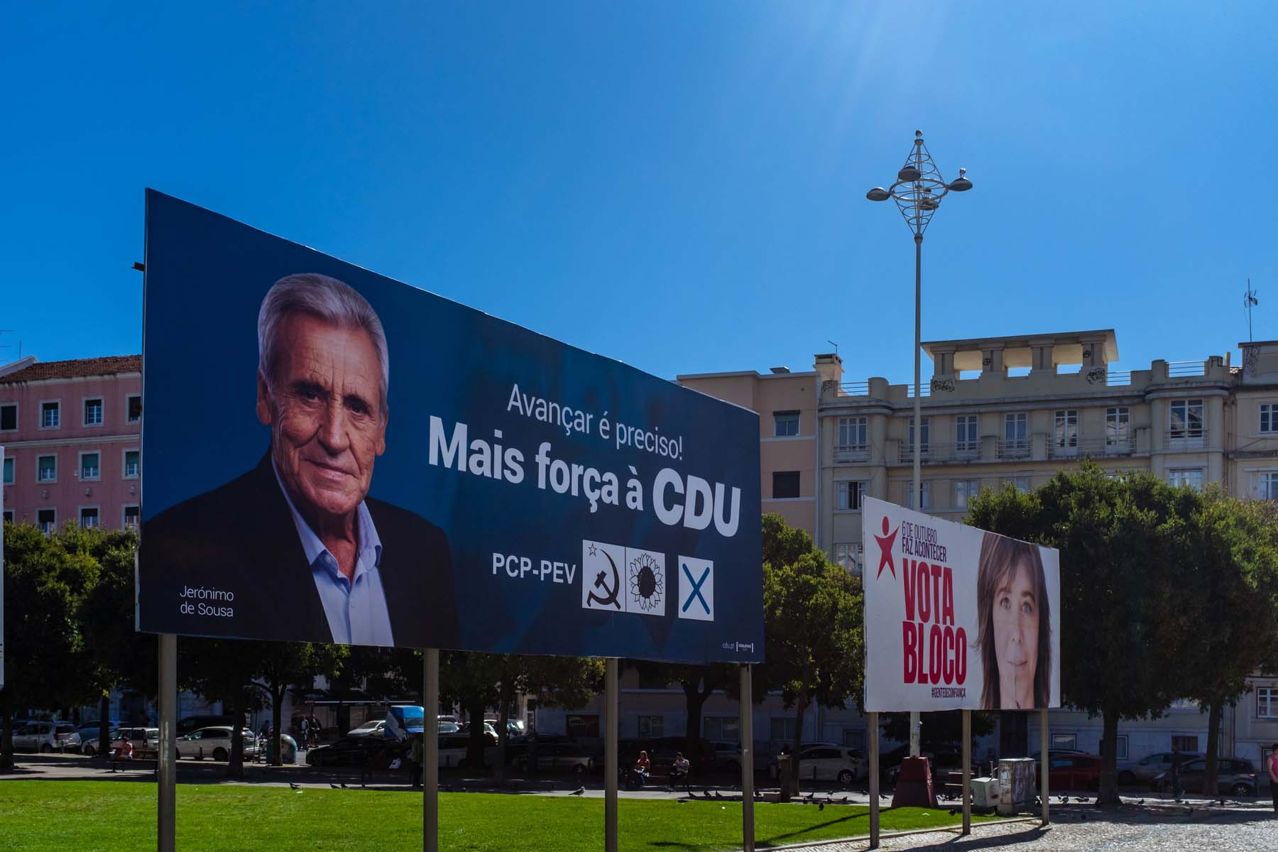 Portuguese election posters