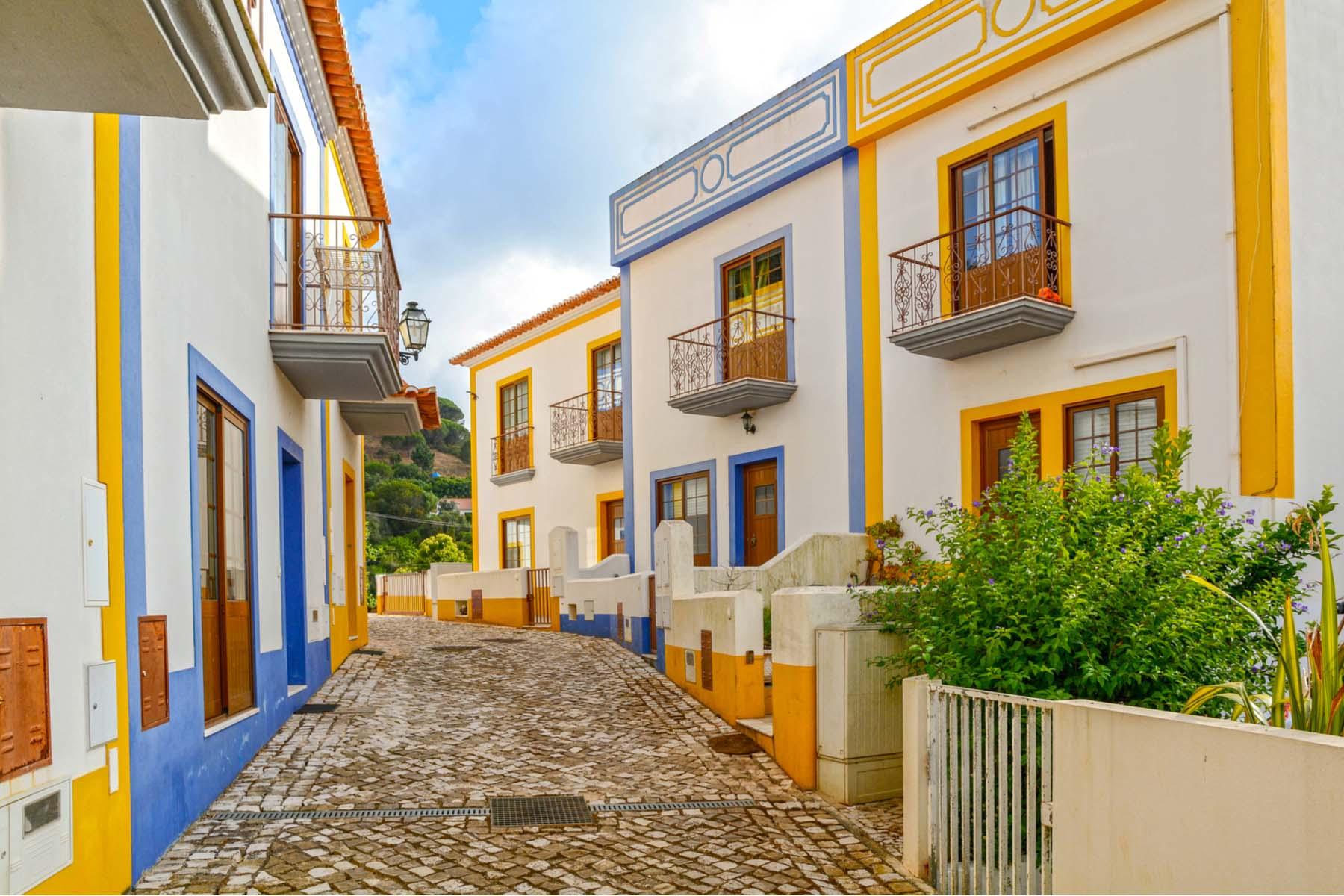 Portuguese mountain town